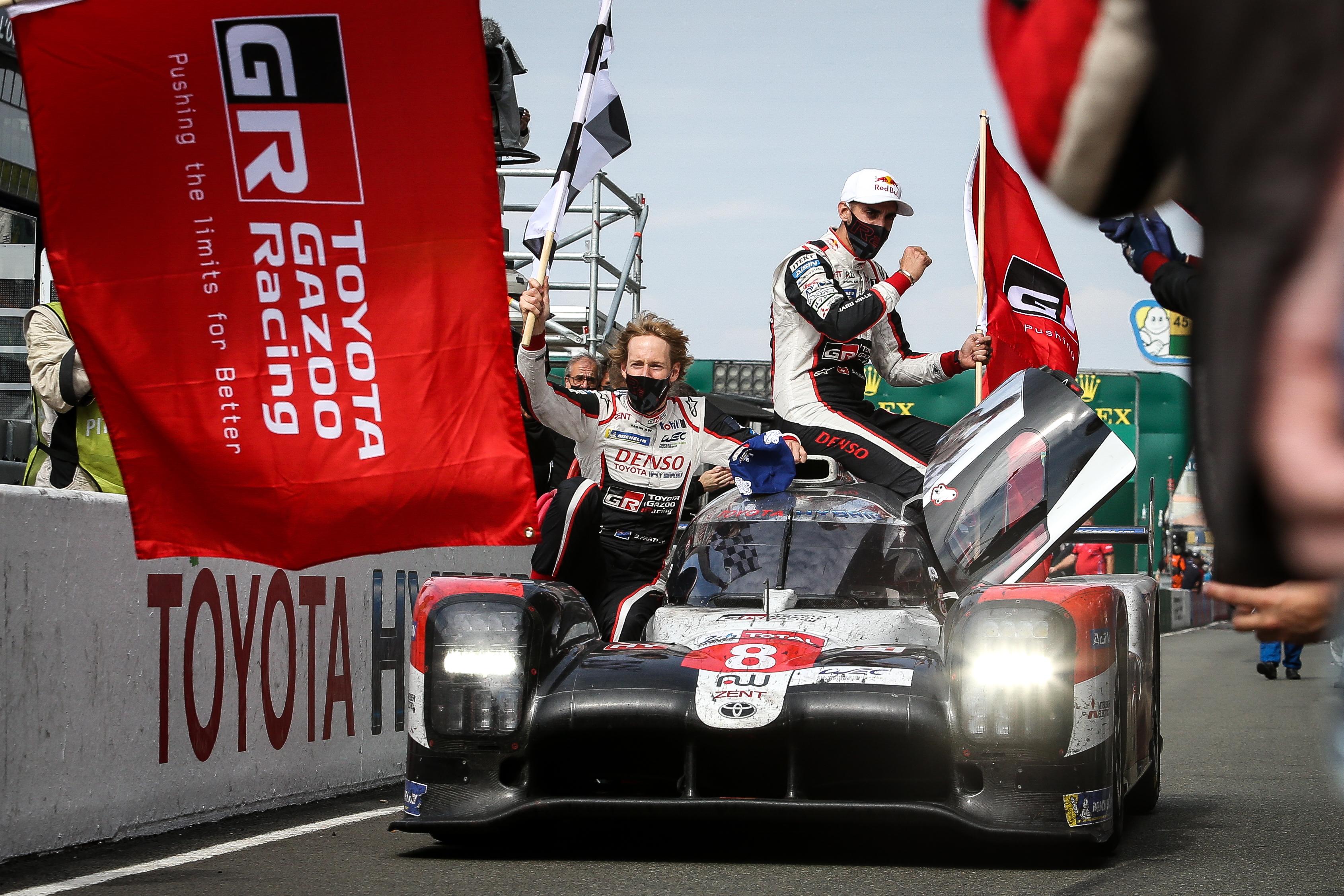 Toyota wins Le Mans 2020