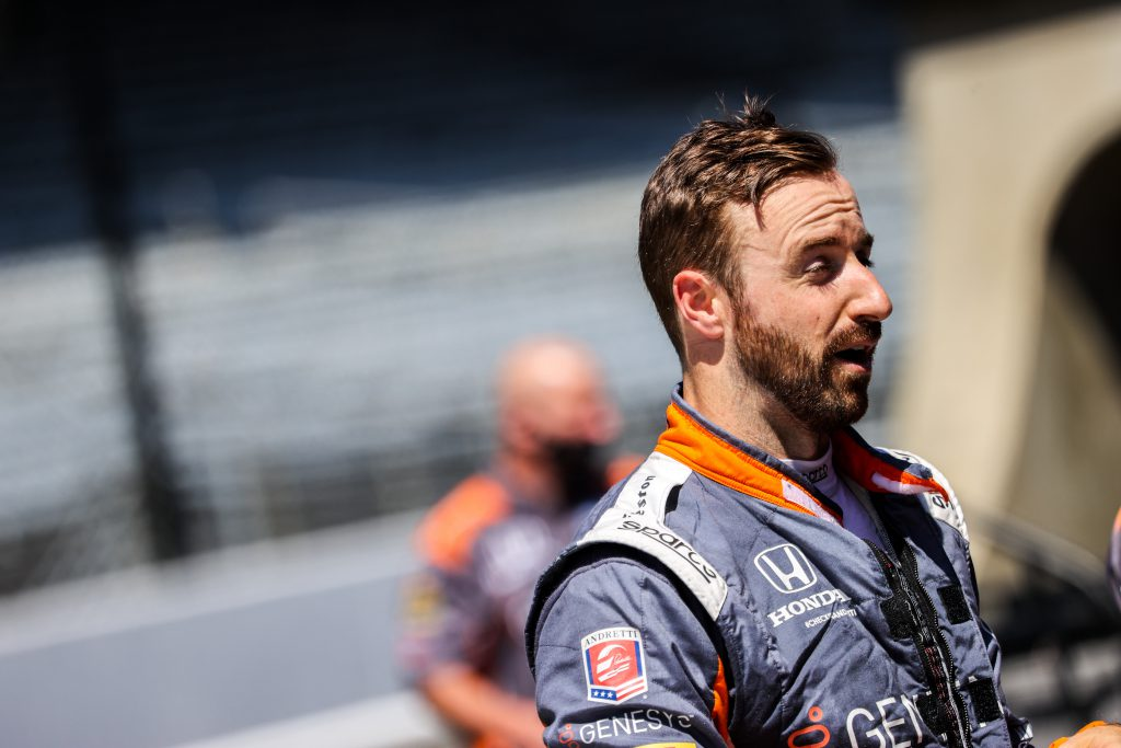 Hinchcliffe to complete IndyCar season with Andretti - The Race