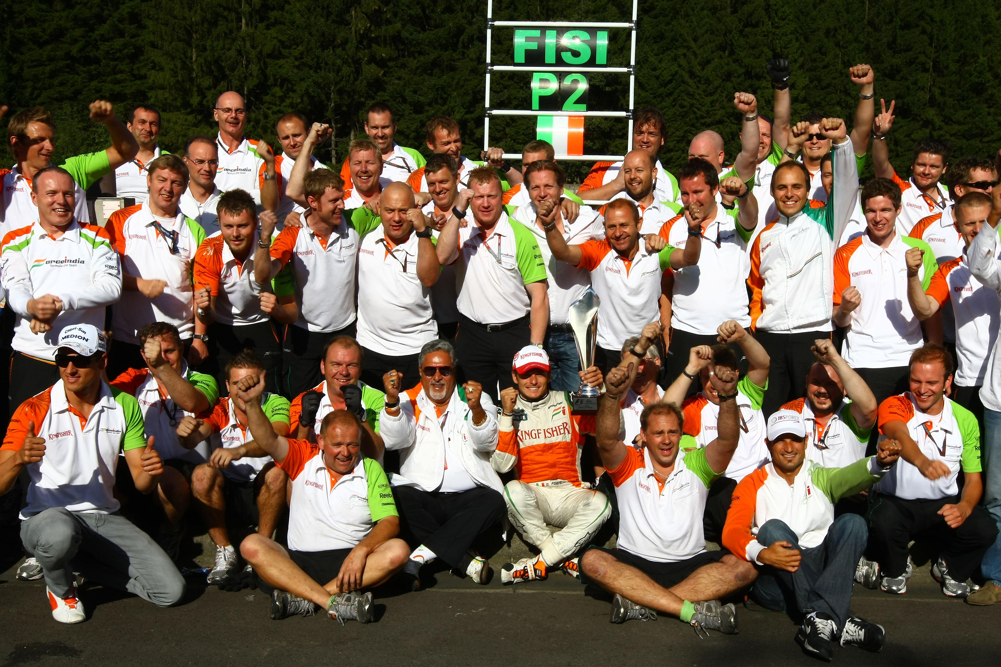 Formula 1 Grand Prix, Belgium, Sunday Podium