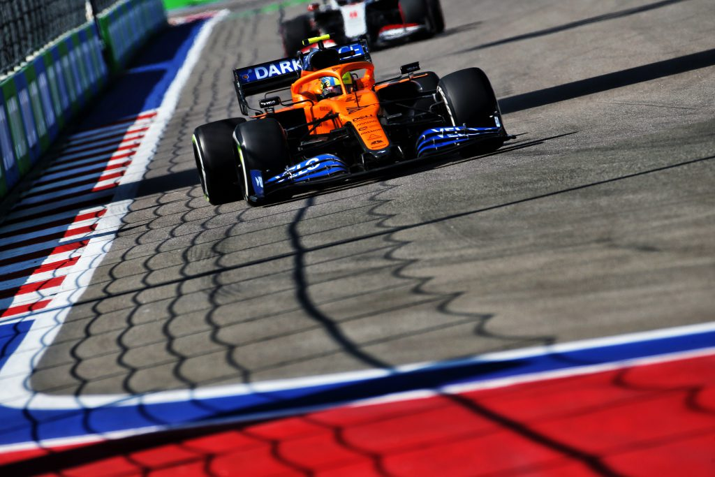 Why McLaren's racing a part that's 'not a step forward' yet - The Race