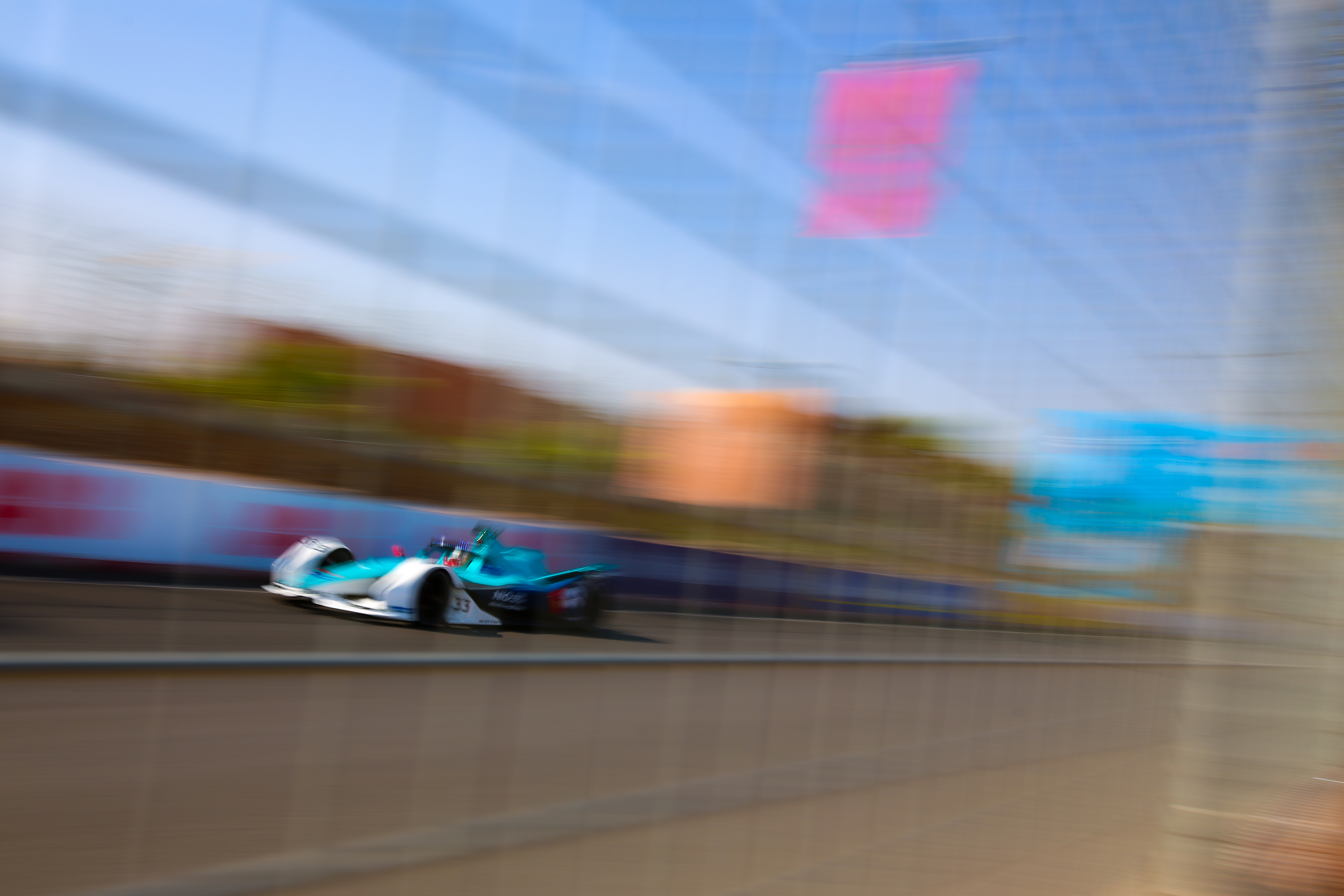 Oliver Turvey NIO333 Marrakesh Formula E 2020