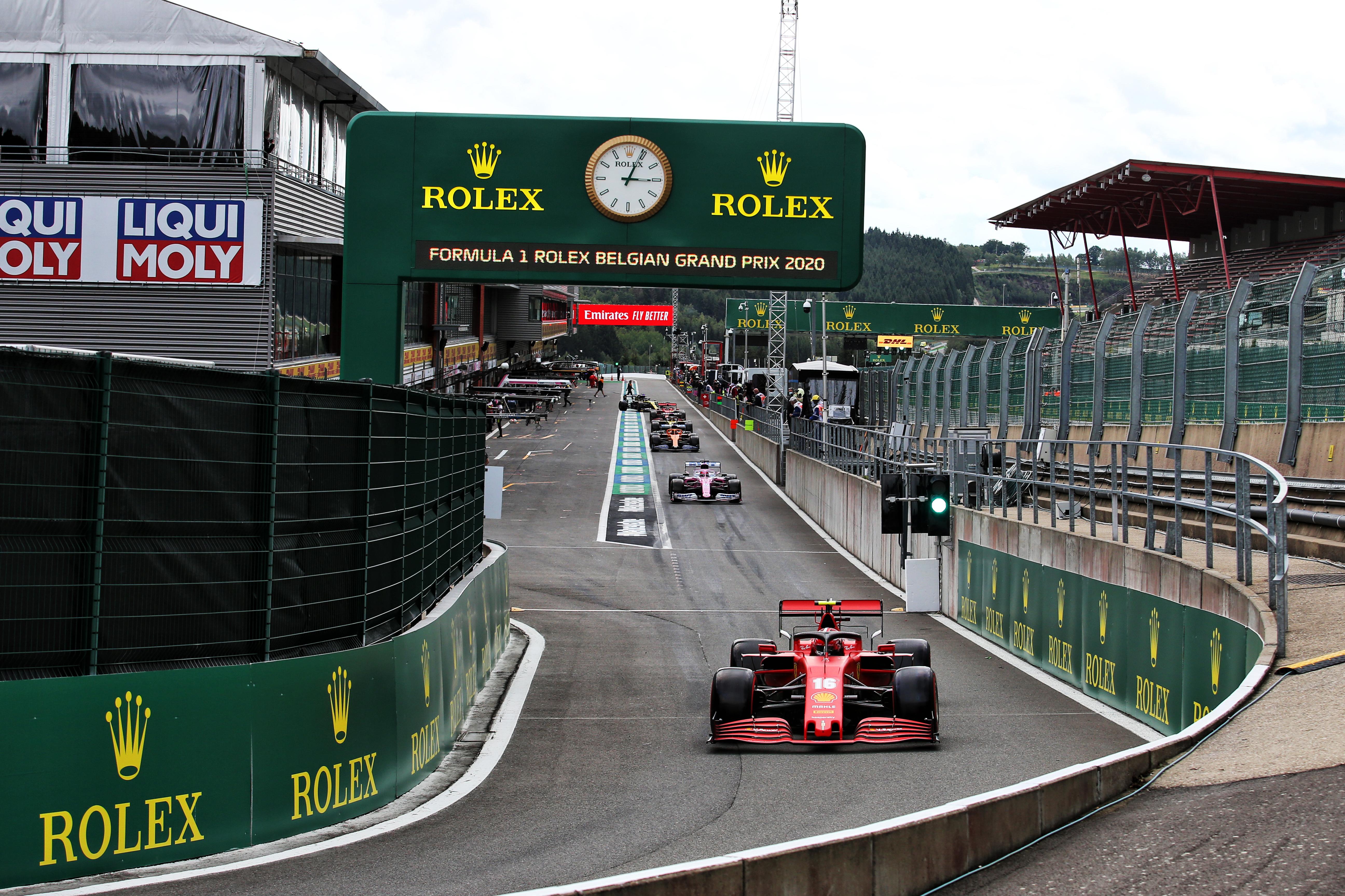Motor Racing Formula One World Championship Belgian Grand Prix Qualifying Day Spa Francorchamps, Belgium