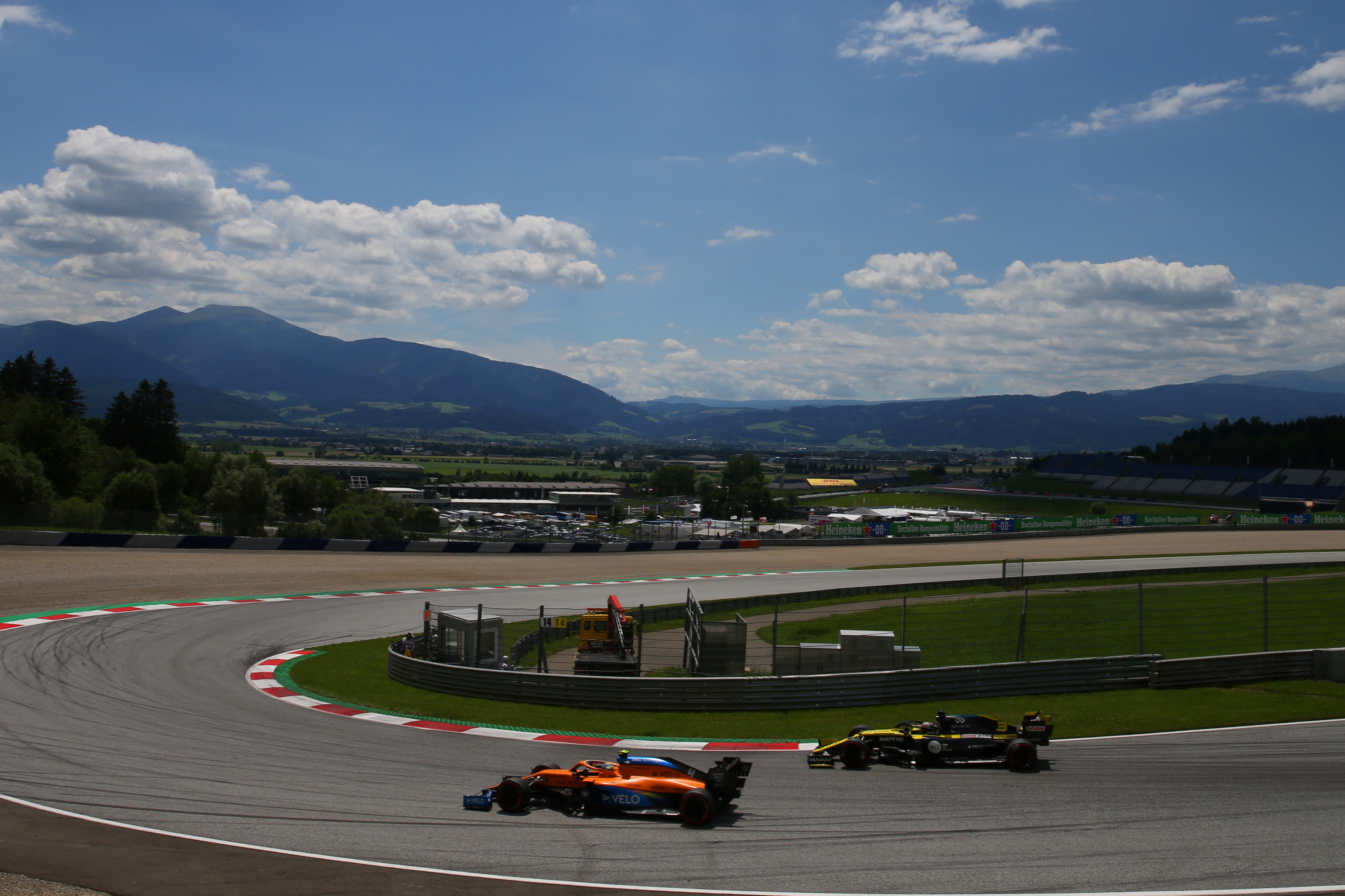 Motor Racing Formula One World Championship Austrian Grand Prix Qualifying Day Spielberg, Austria