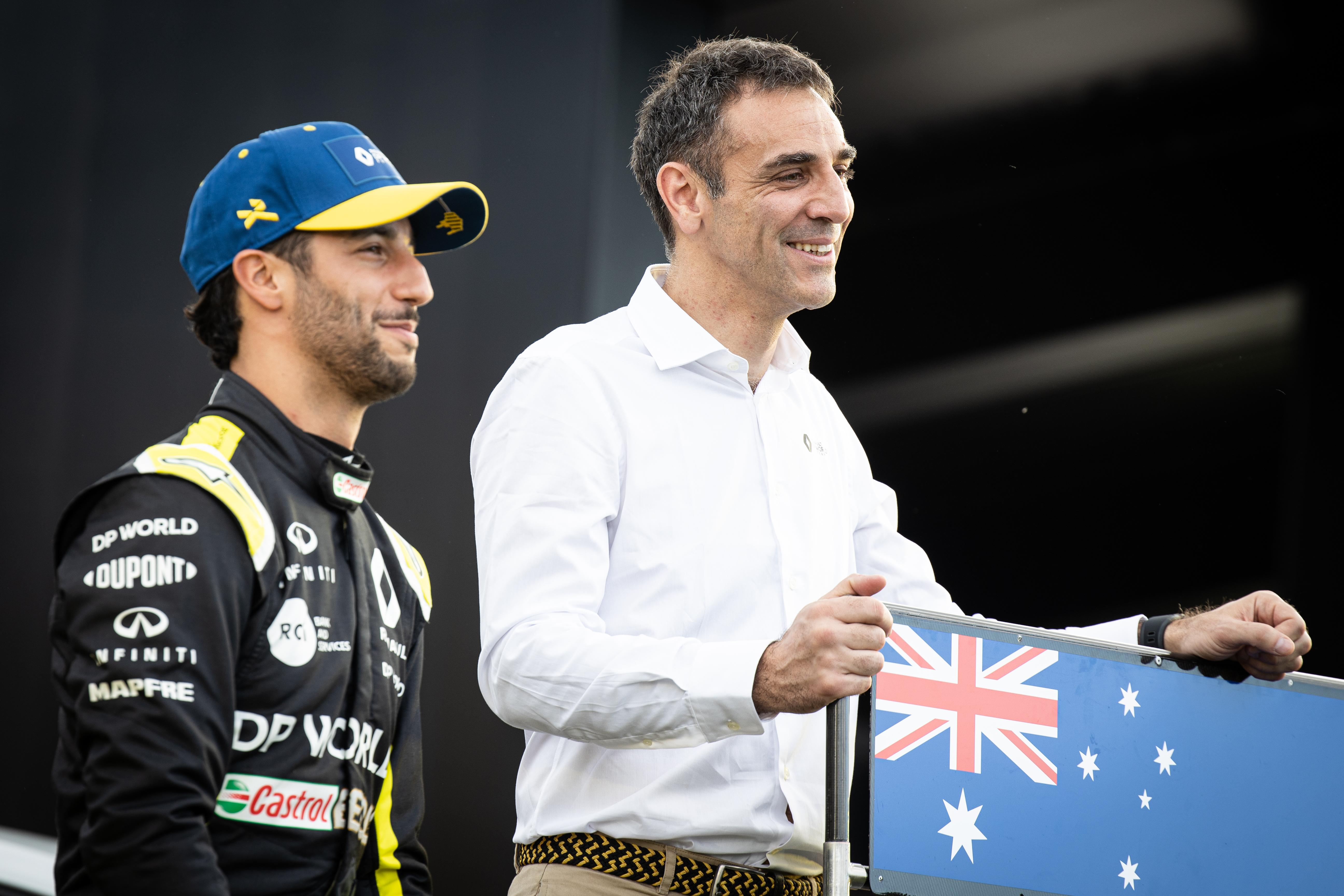 Motor Racing Formula One World Championship Australian Grand Prix Preparation Day Wednesday Melbourne, Australia