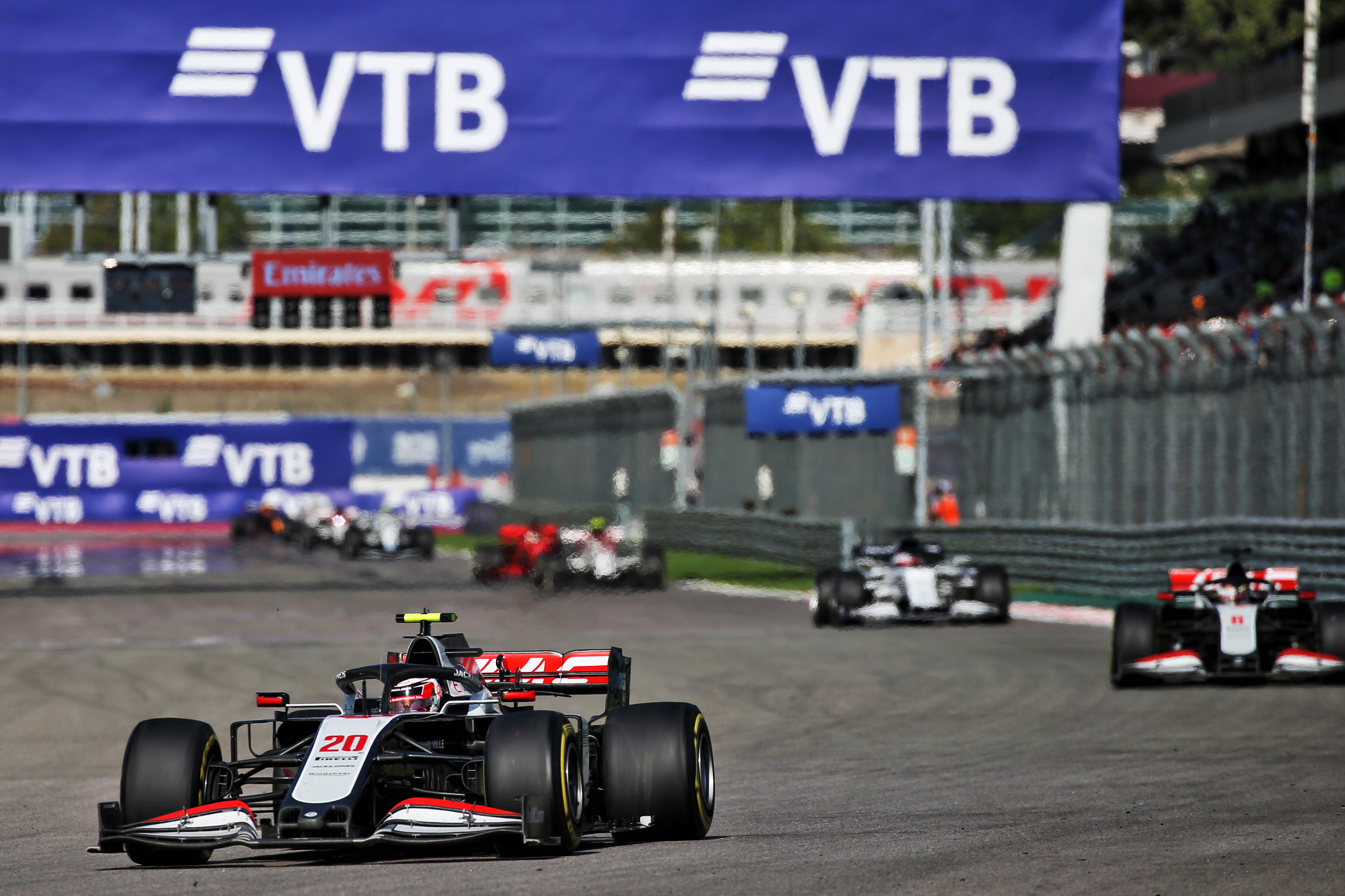 Kevin Magnussen Haas Russian Grand Prix 2020 Sochi