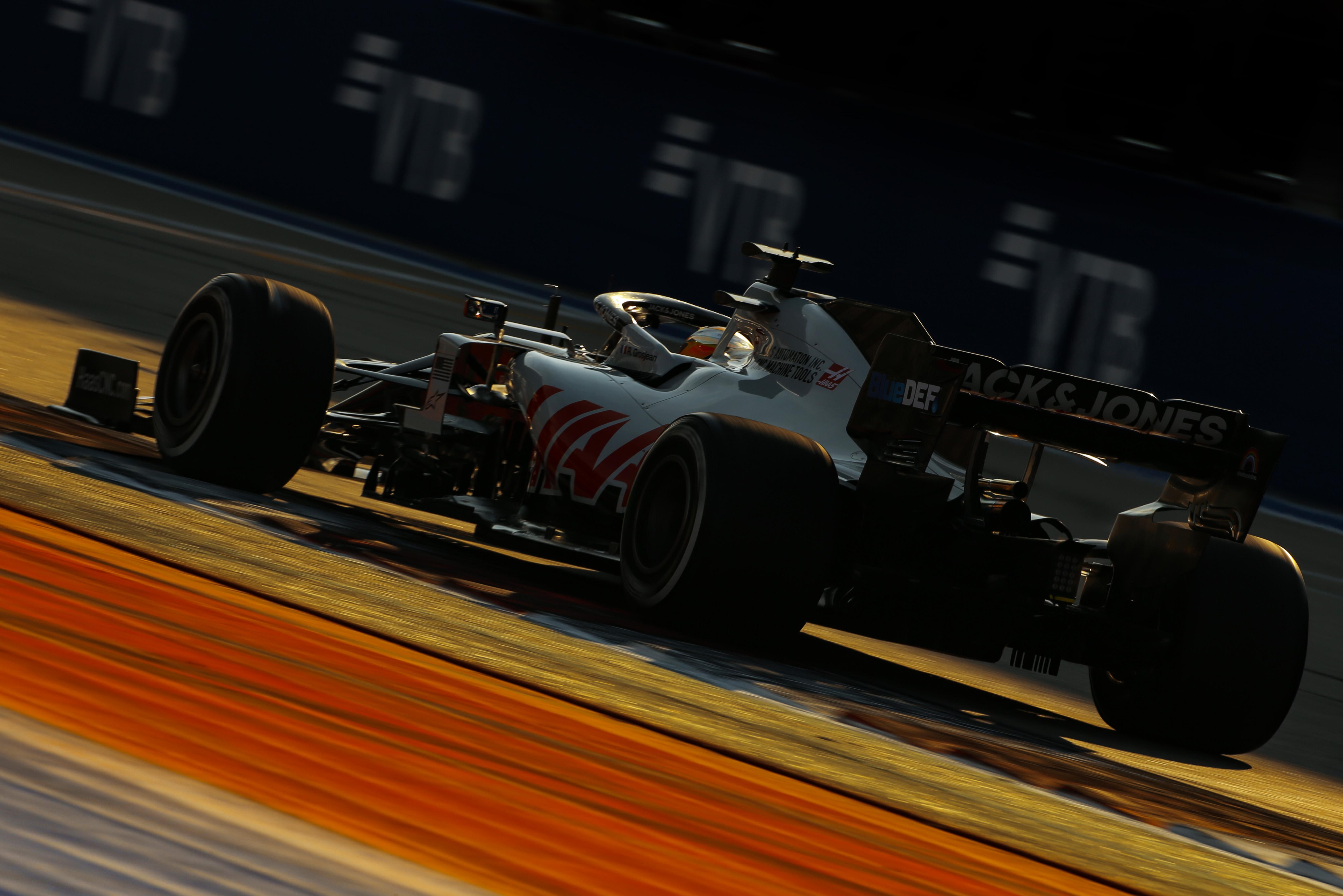Romain Grosjean Haas Russian Grand Prix 2020 Sochi