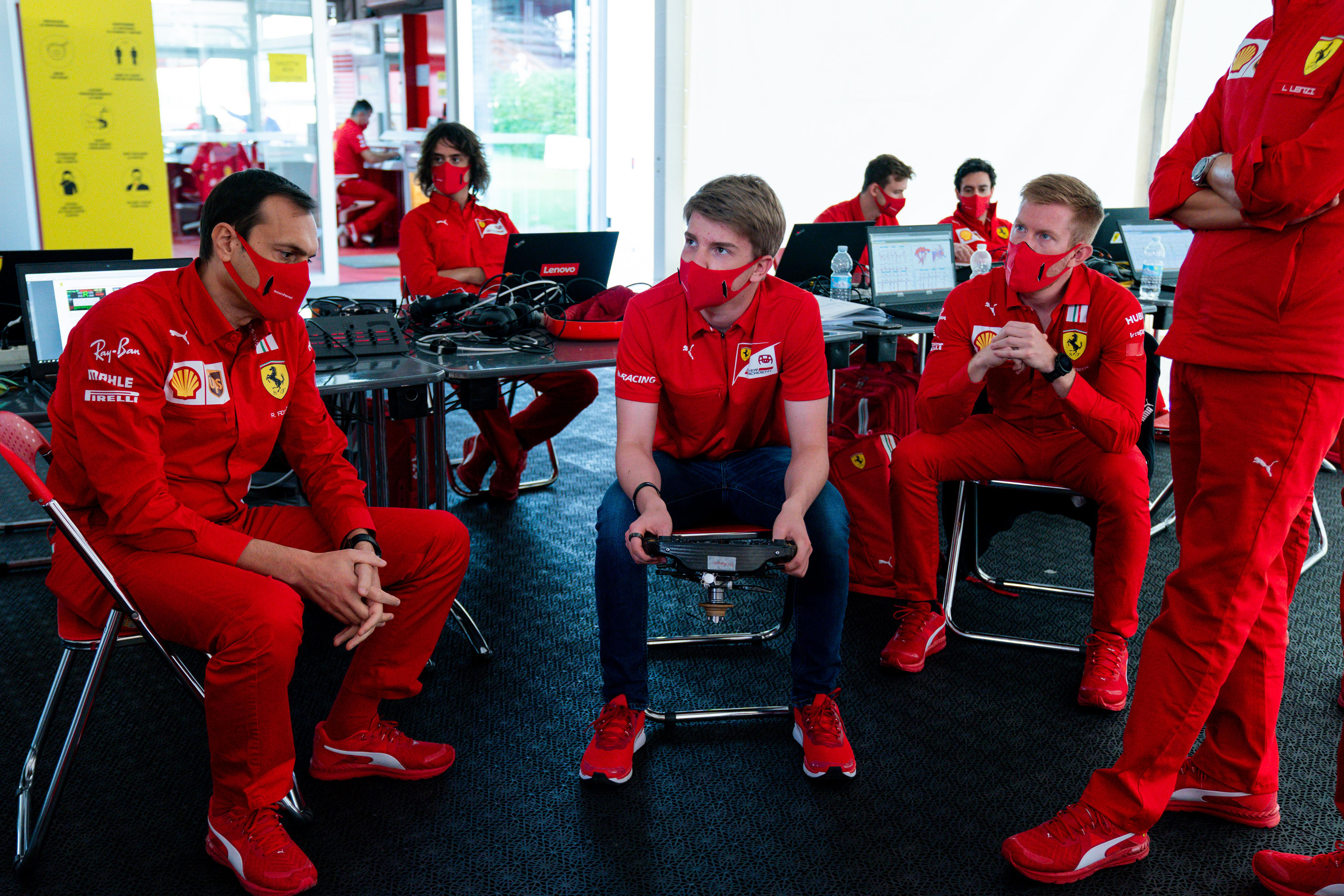 Ferrari Fda F1 Debut