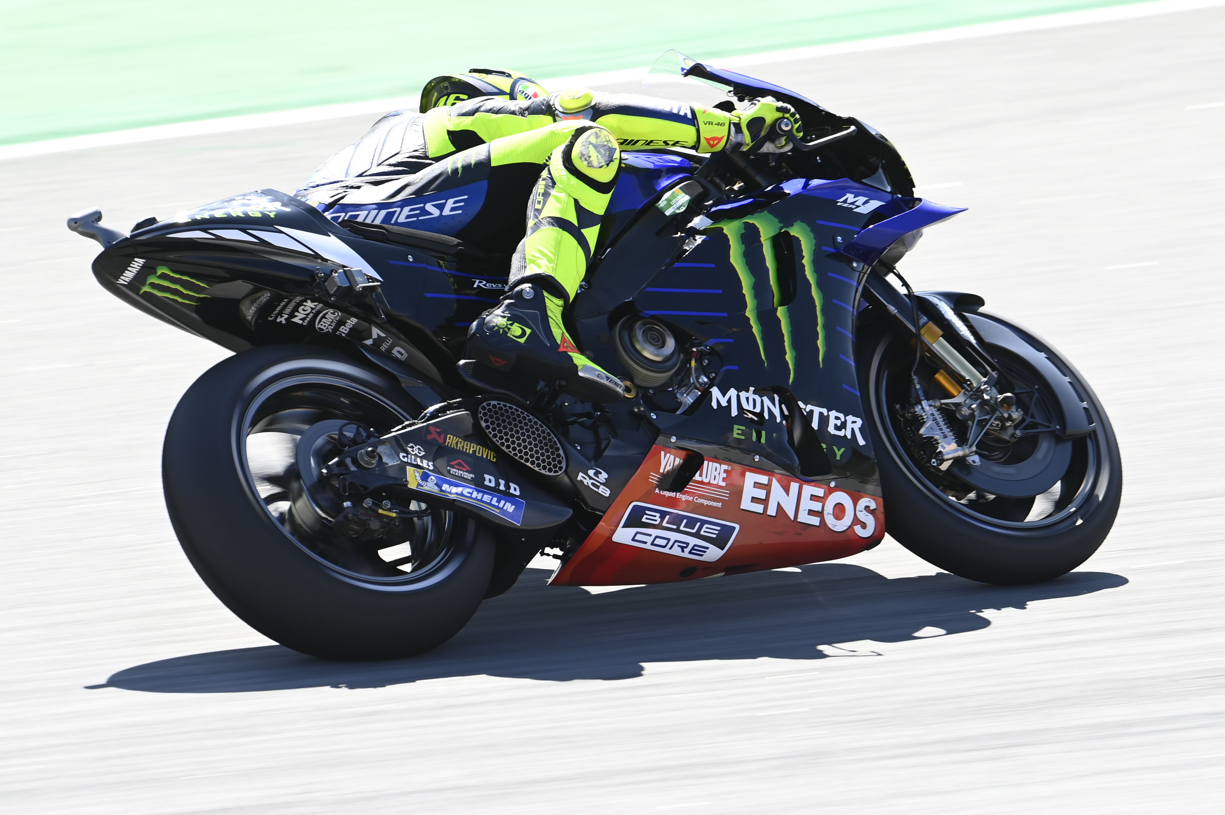 Valentino Rossi Yamaha Barcelona MotoGP 2020