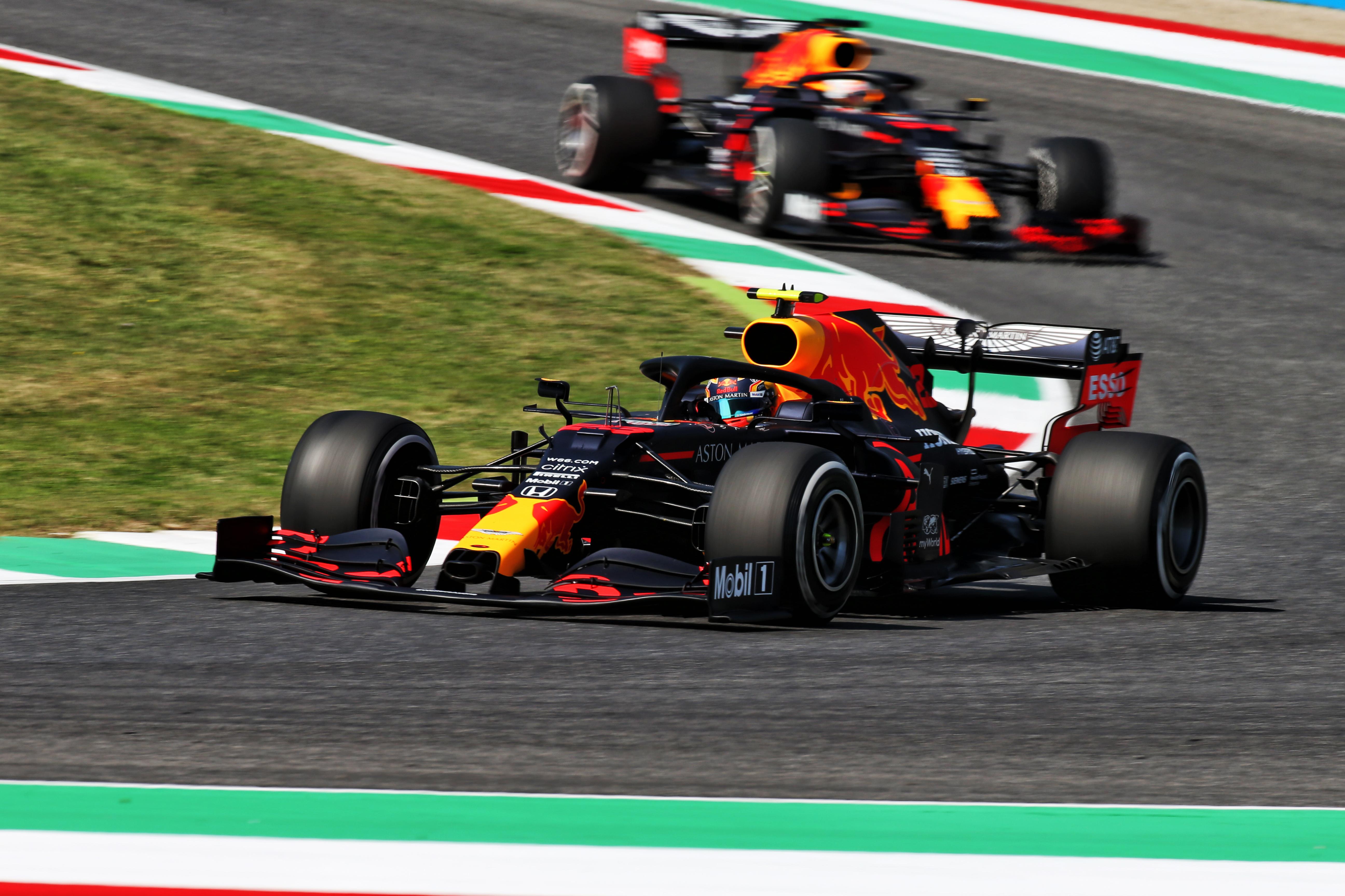 Alex Albon Red Bull Tuscan Grand Prix 2020 Mugello