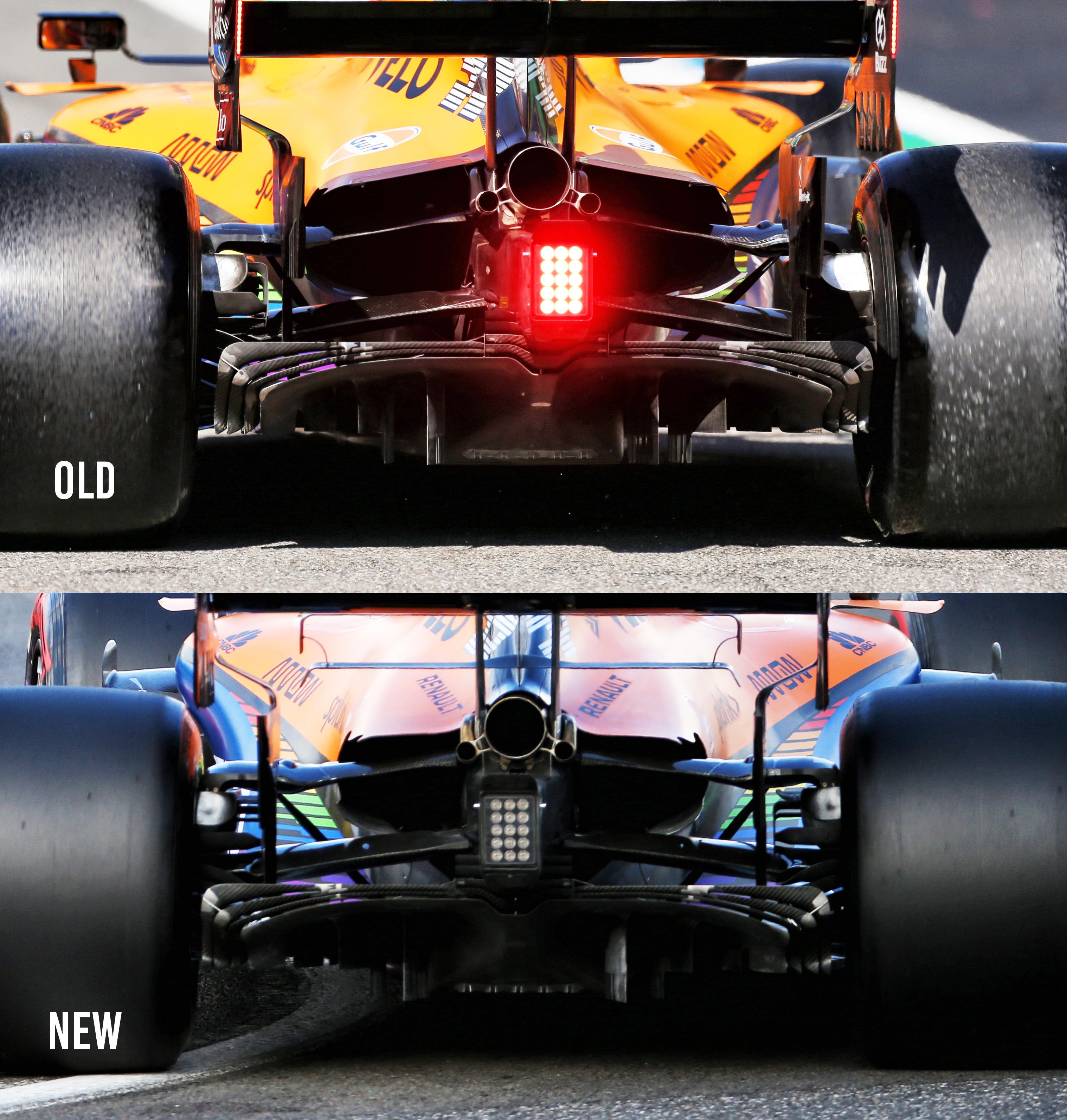 McLaren comparison