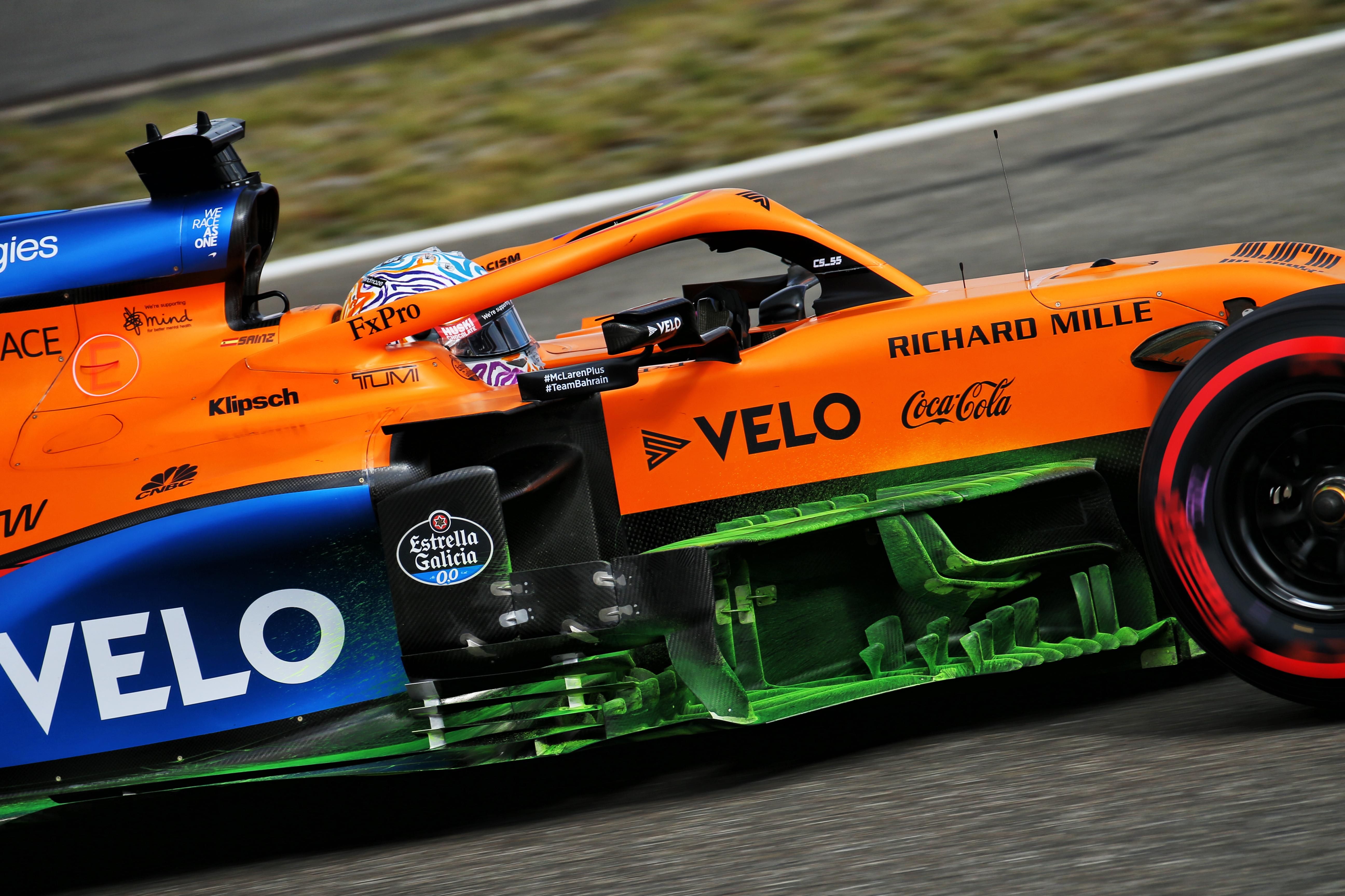 Motor Racing Formula One World Championship Eifel Grand Prix Qualifying Day Nurbugring, Germany