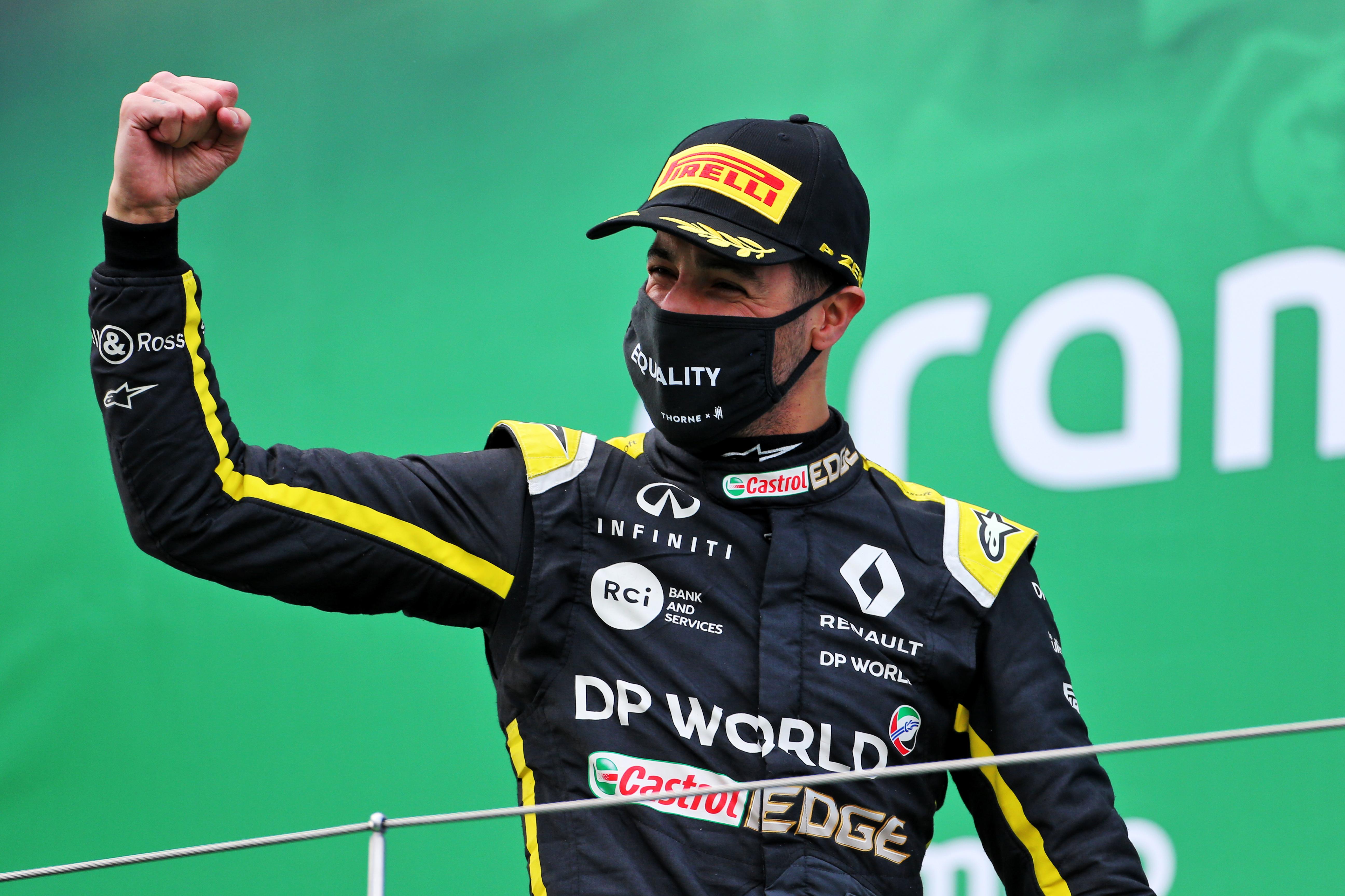 Daniel Ricciardo Renault F1 2020