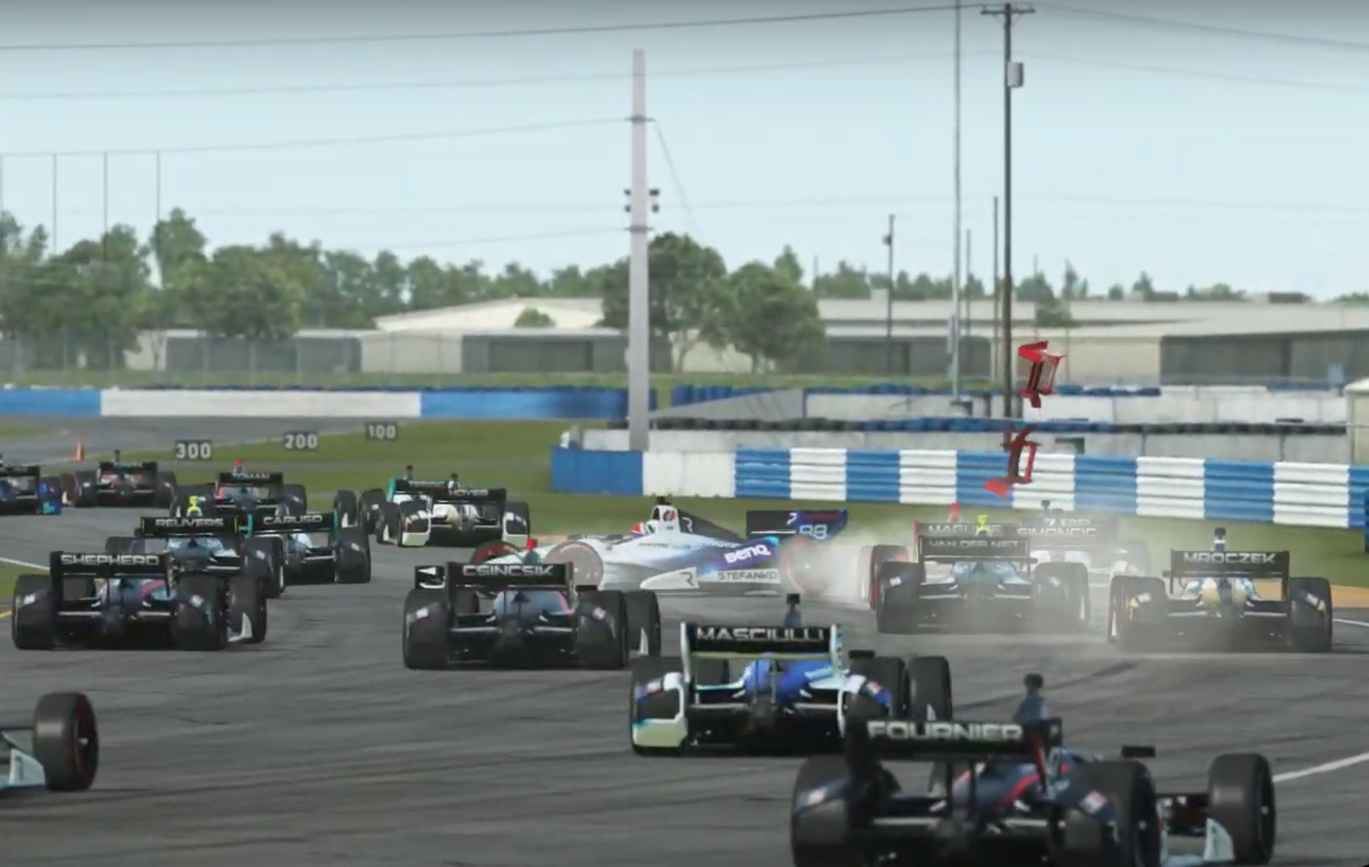 Indypro R3 Stefanko Crash