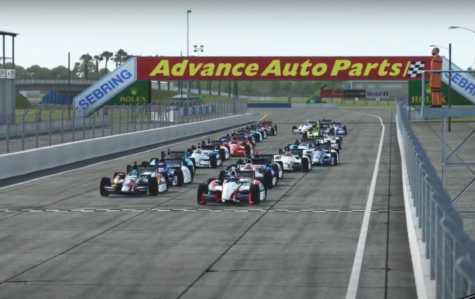 Indypro R3 Feature Race Start