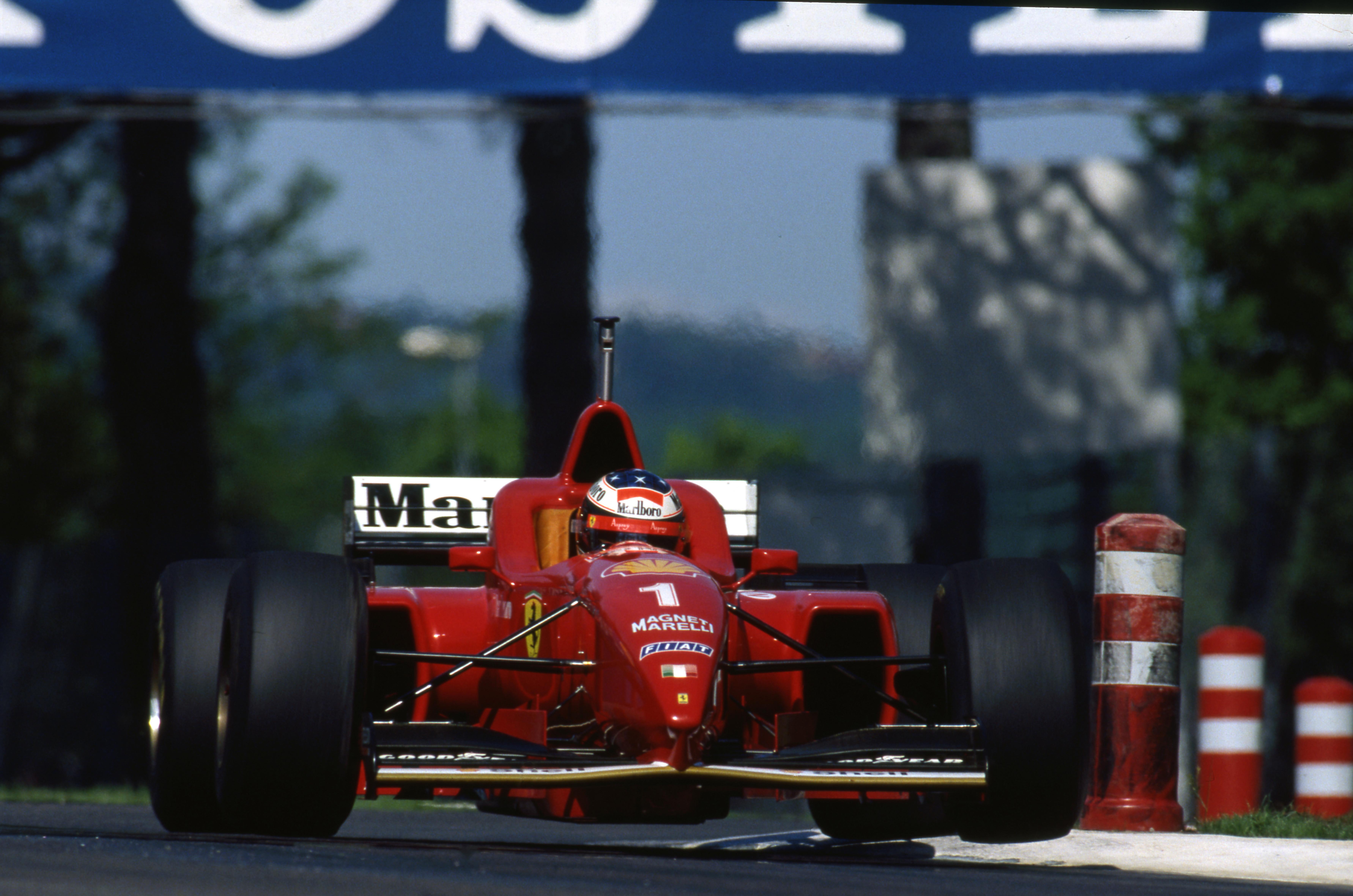 Michael Schumacher Ferrari Imola 1996