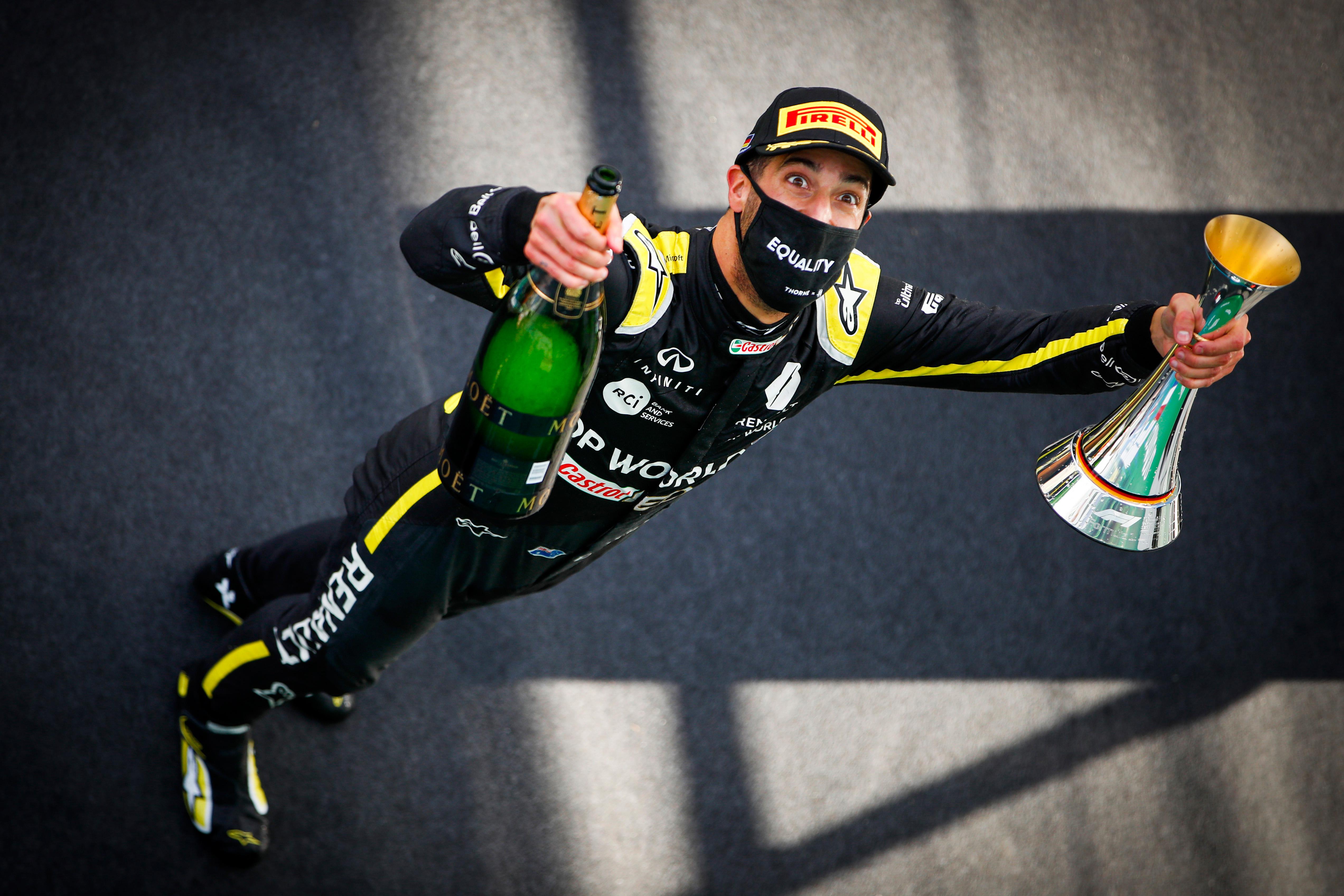 What Ricciardo S Breakthrough Podium Really Says About Renault The Race