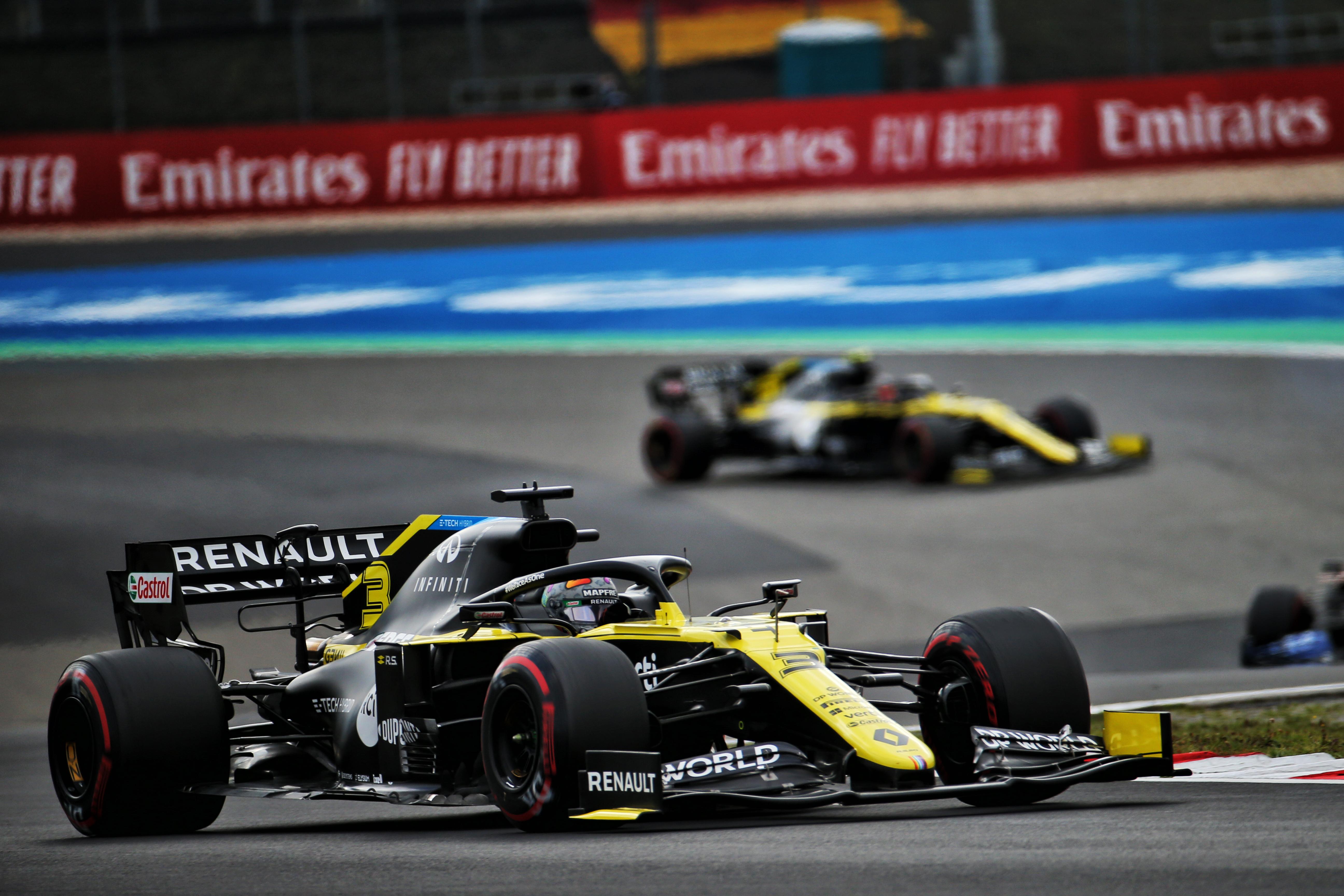 Daniel Ricciardo Esteban Ocon Renault F1 2020