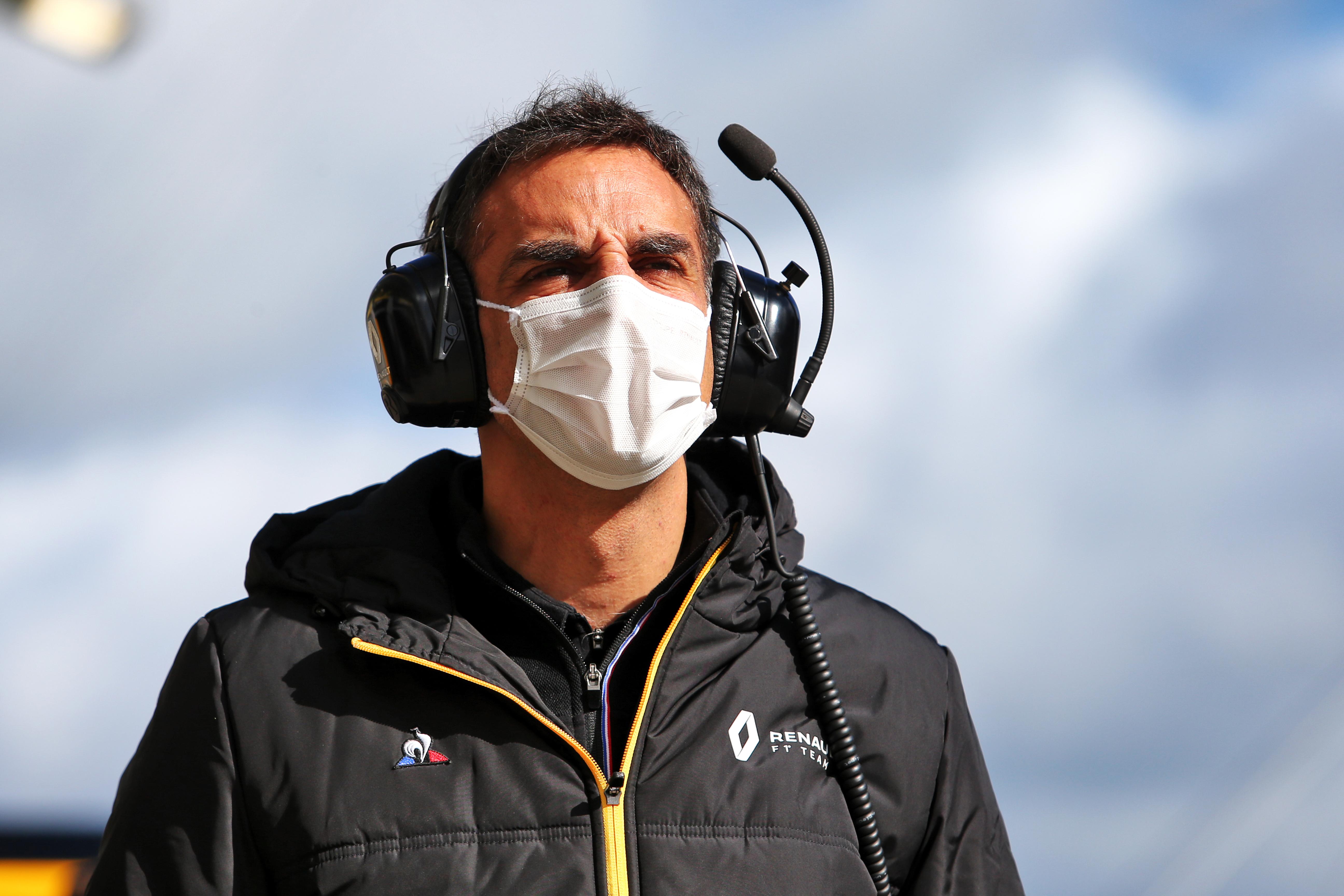 Cyril Abiteboul Renault F1 2020