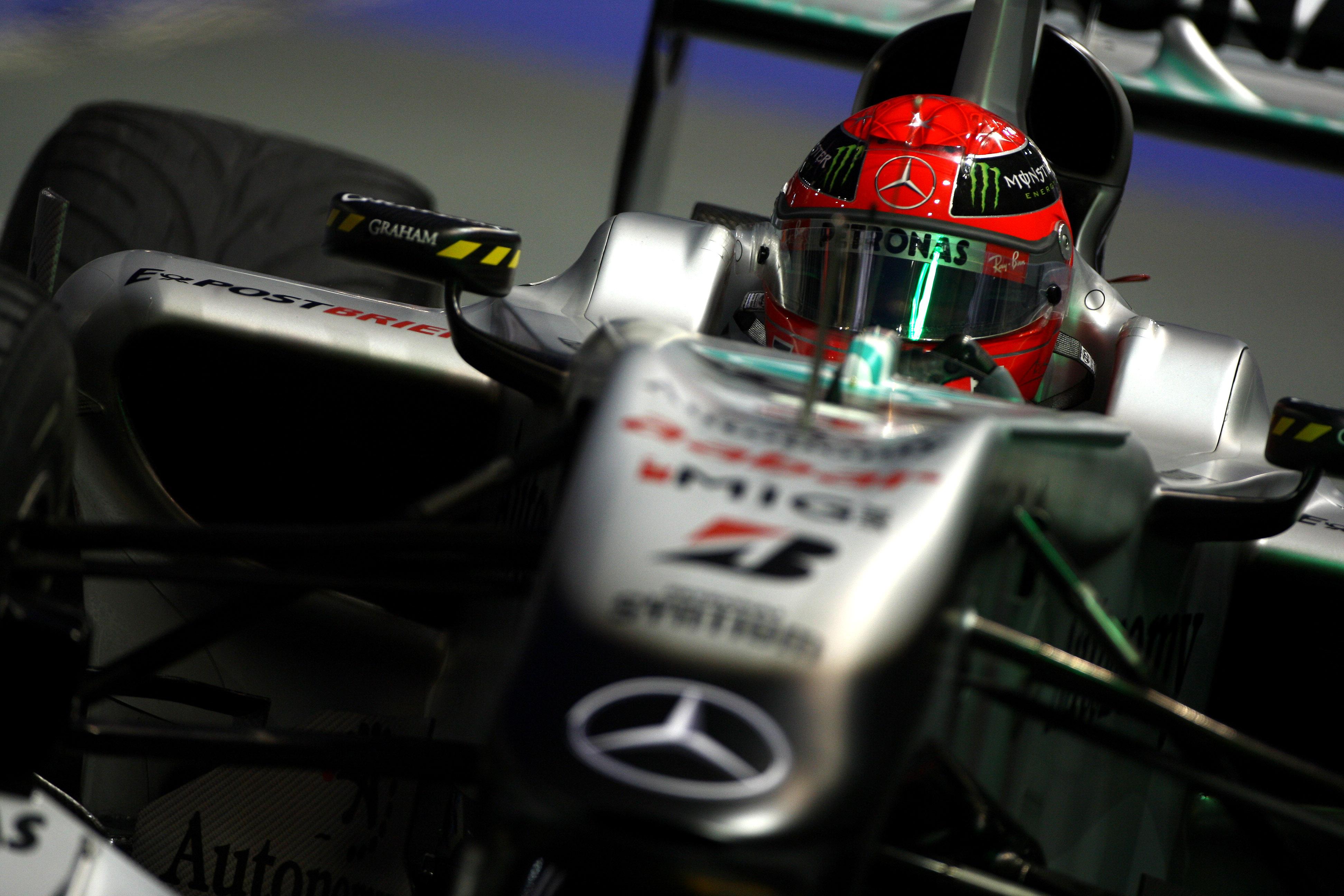 Formula 1 Grand Prix, Singapore, Saturday Practice