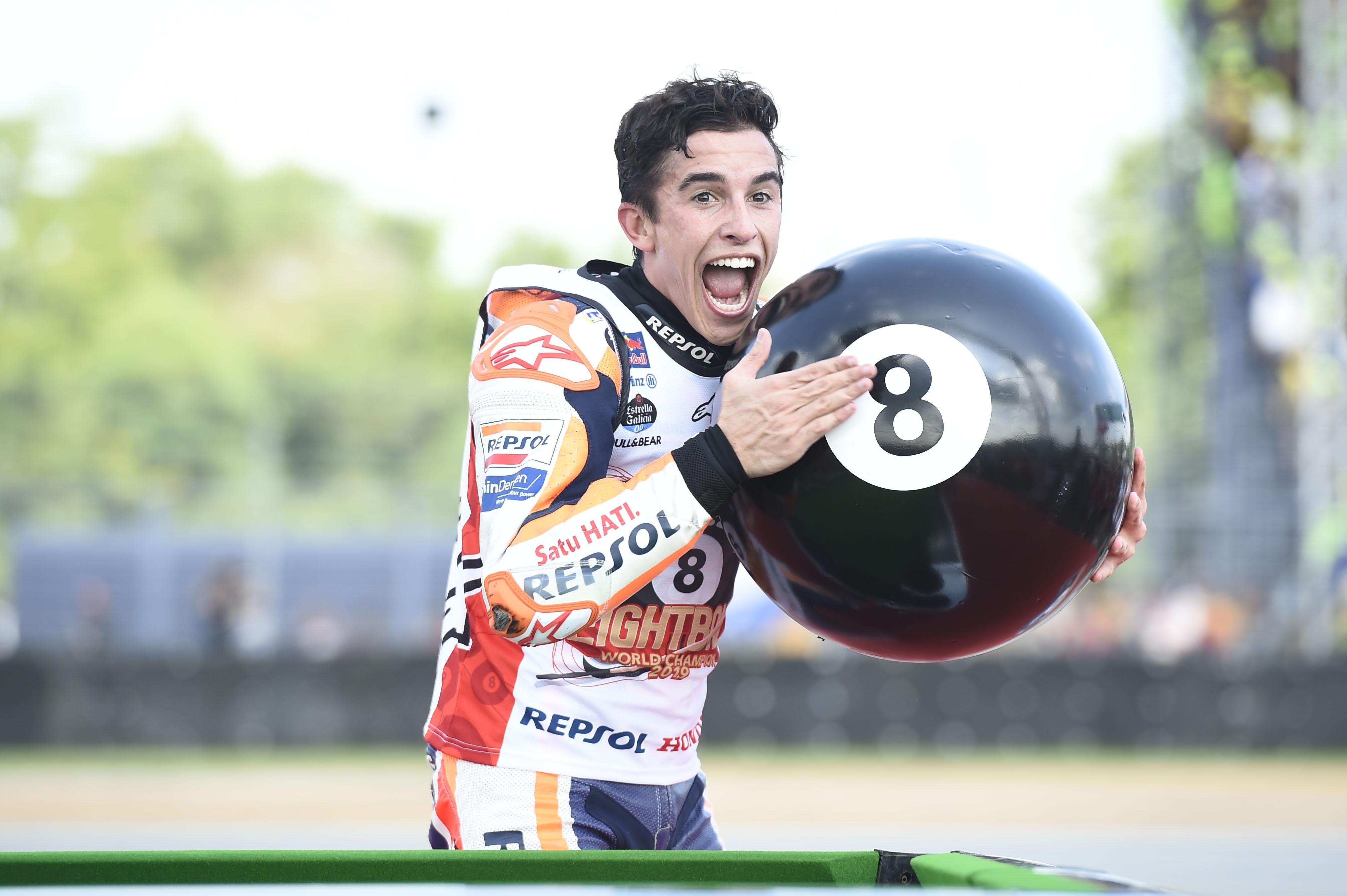 Marc Marquez wins 2019 MotoGP title