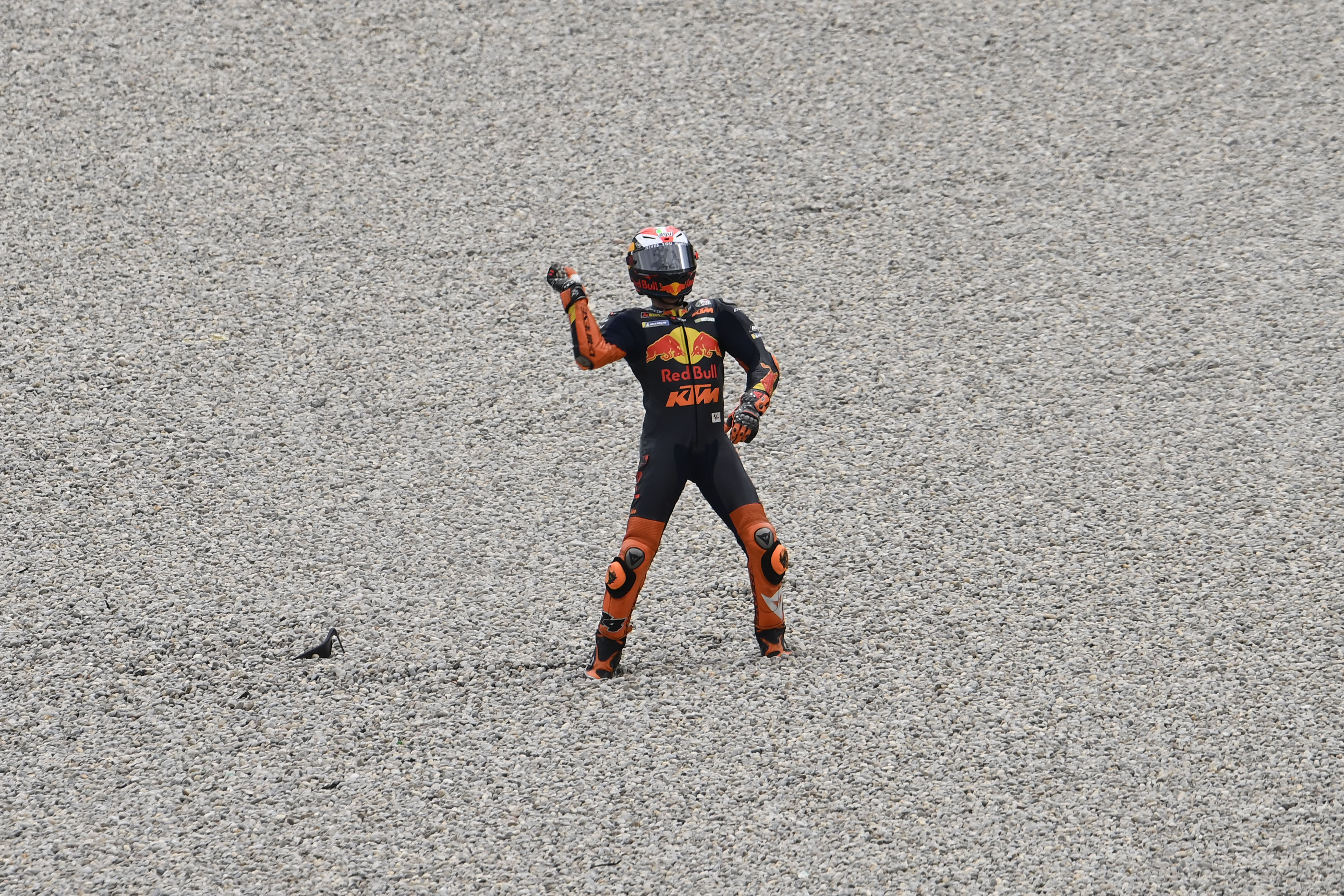Pol Espargaro crash Barcelona MotoGP 2020