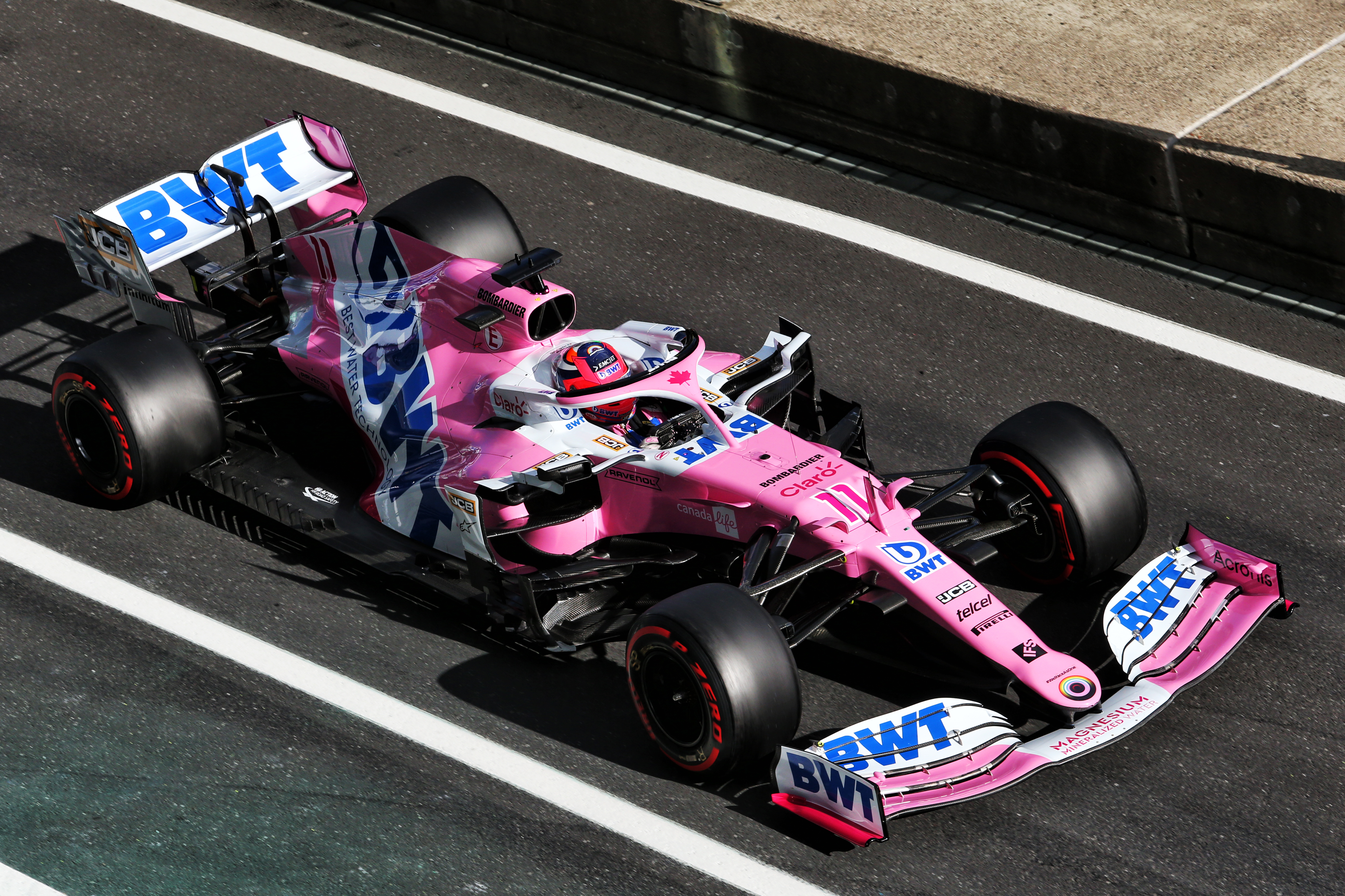 Sergio Perez Racing Point Eifel Grand Prix 2020 Nurburgring