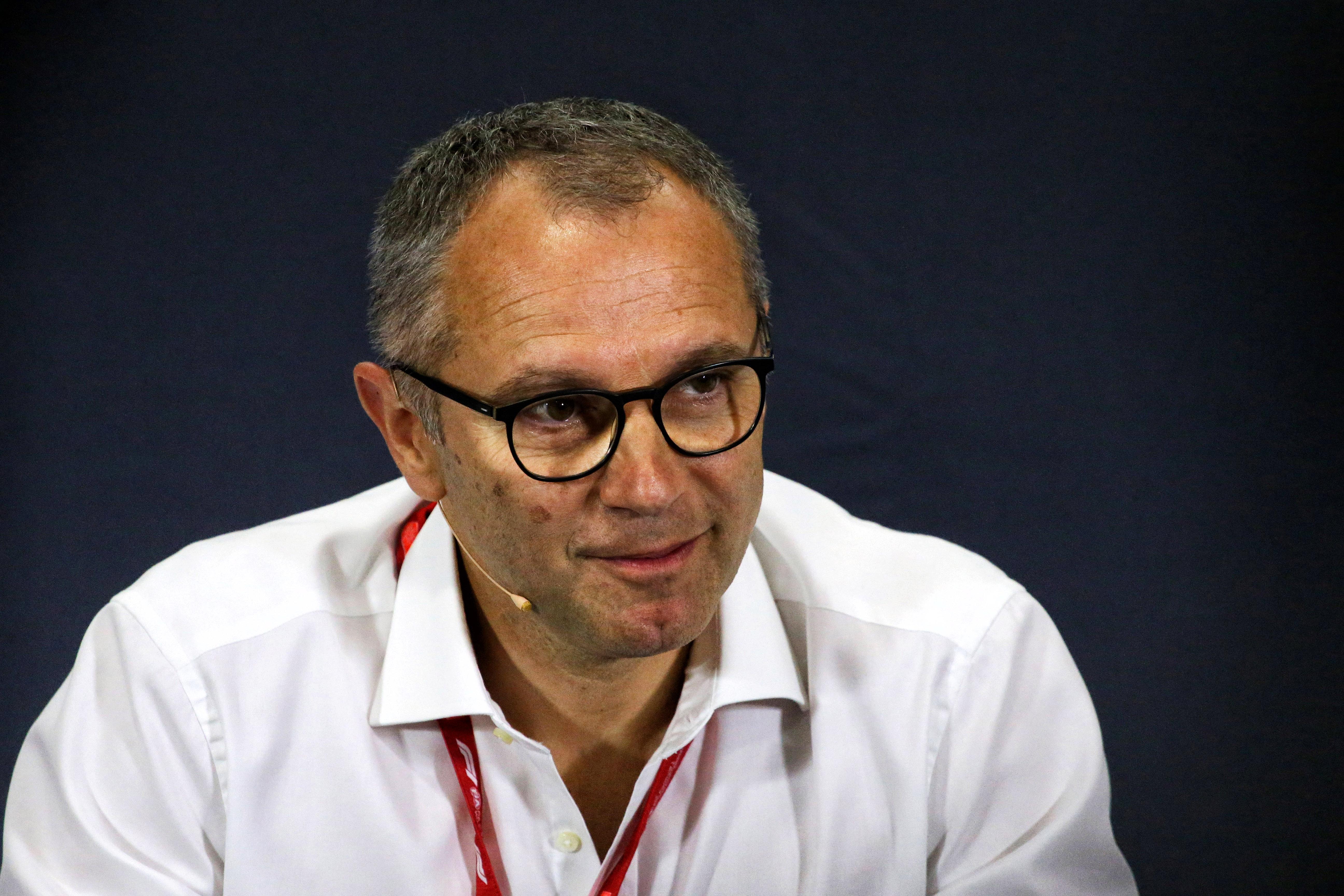 Stefano Domenicali F1 2020