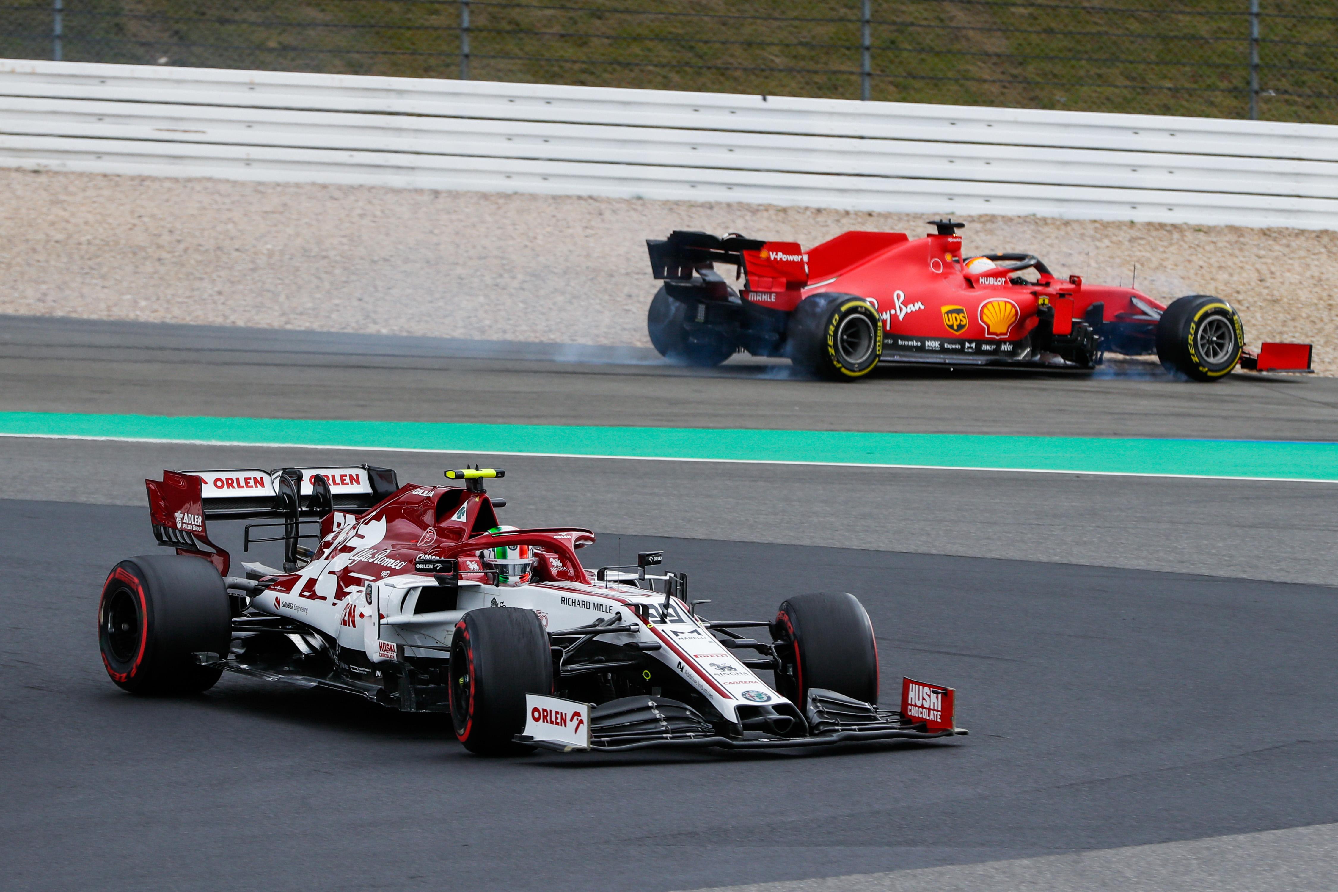 Antonio Giovinazzi Alfa Romeo F1 2020