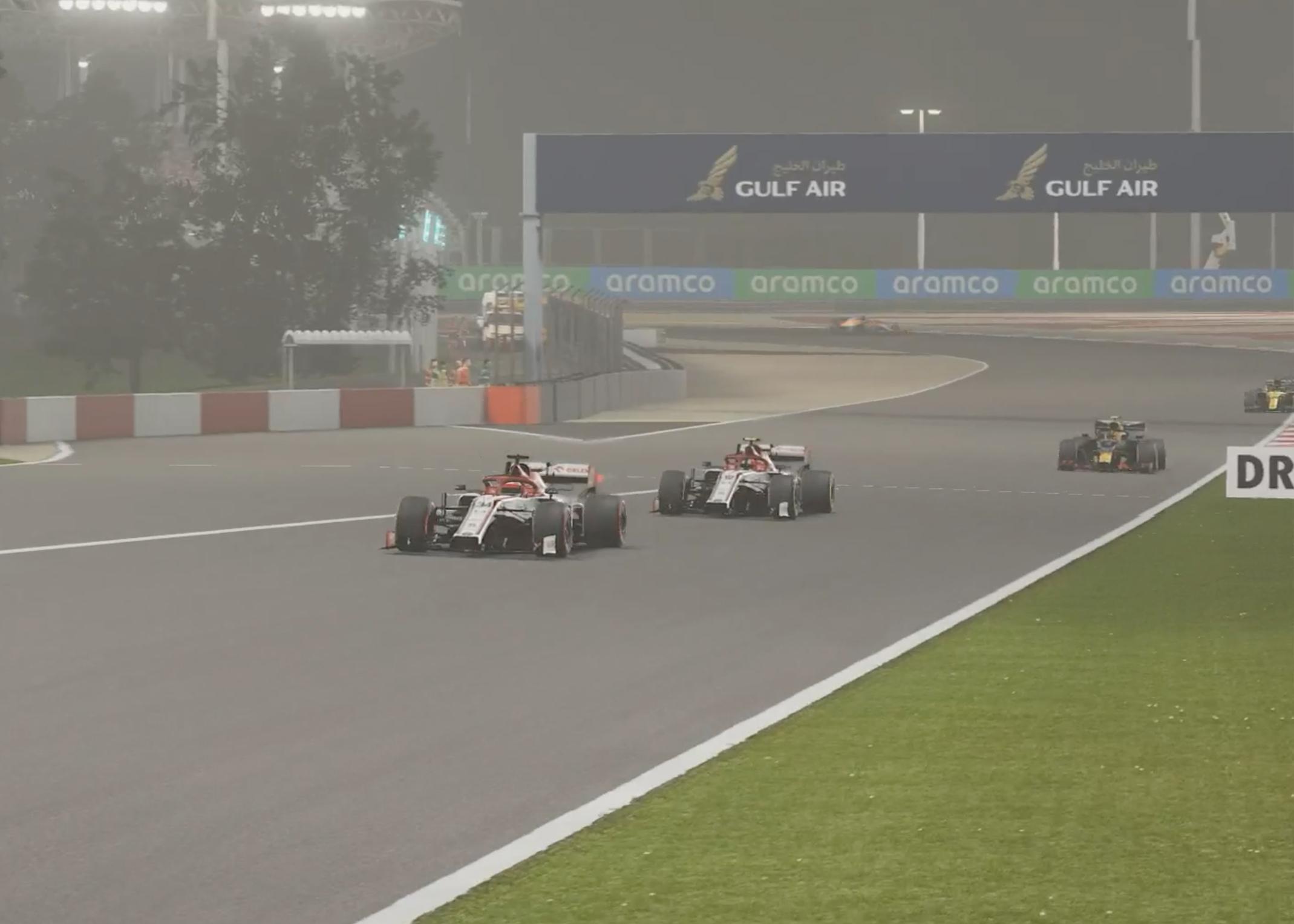 F1 Esports 2020 Bahrain Alfa 1 2