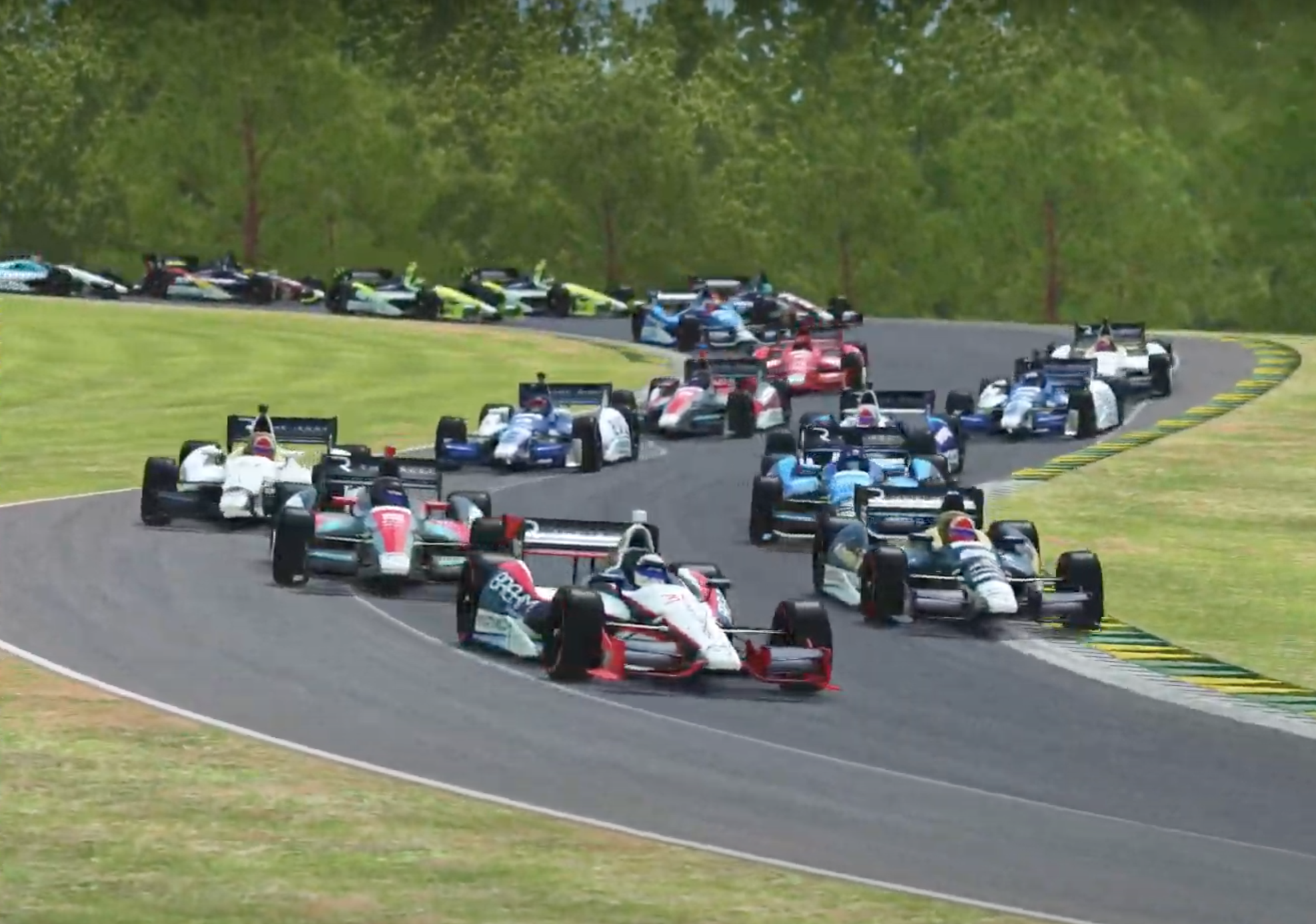 Indypro R4 Feature Race Start