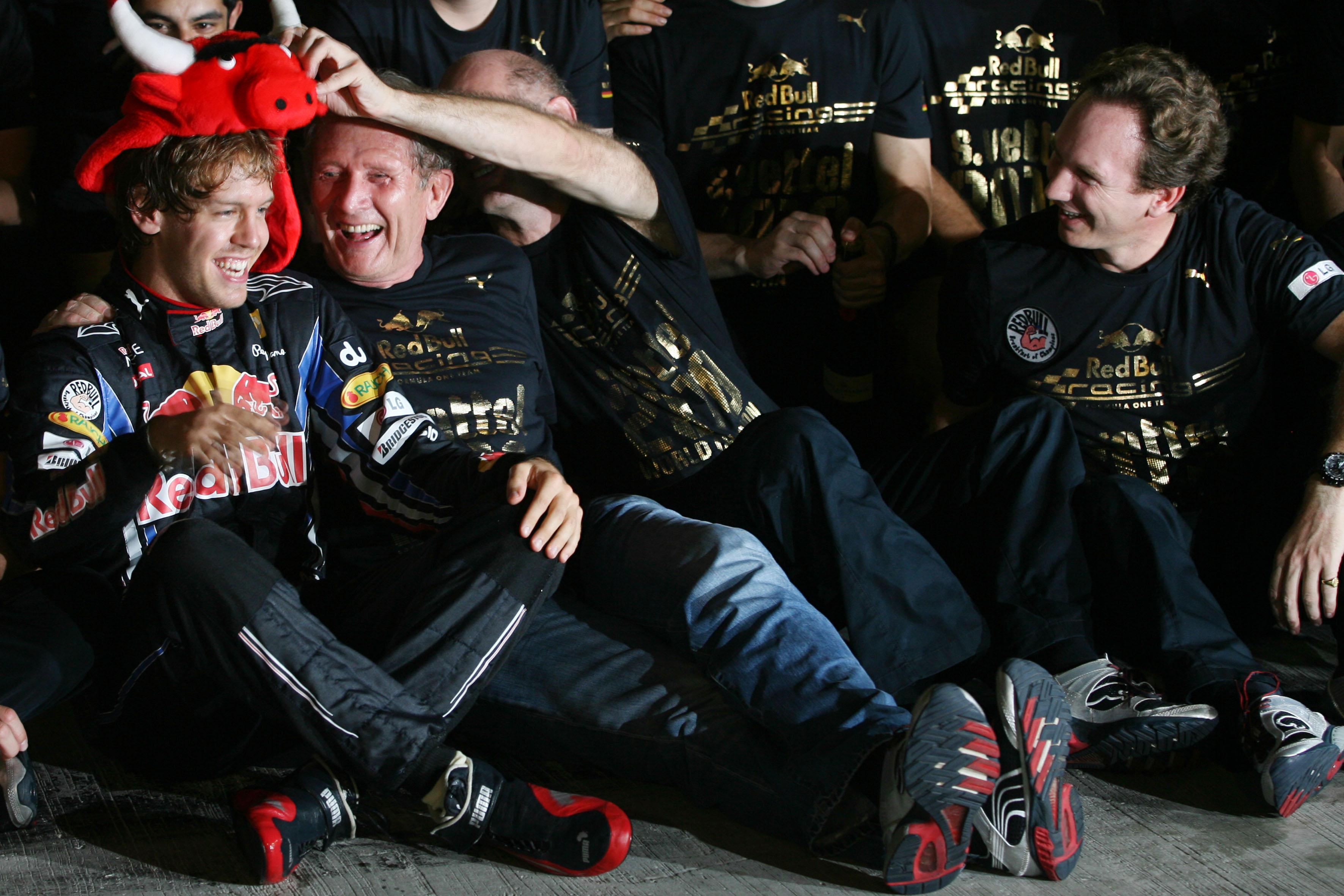 Sebastian Vettel wins 2010 F1 title