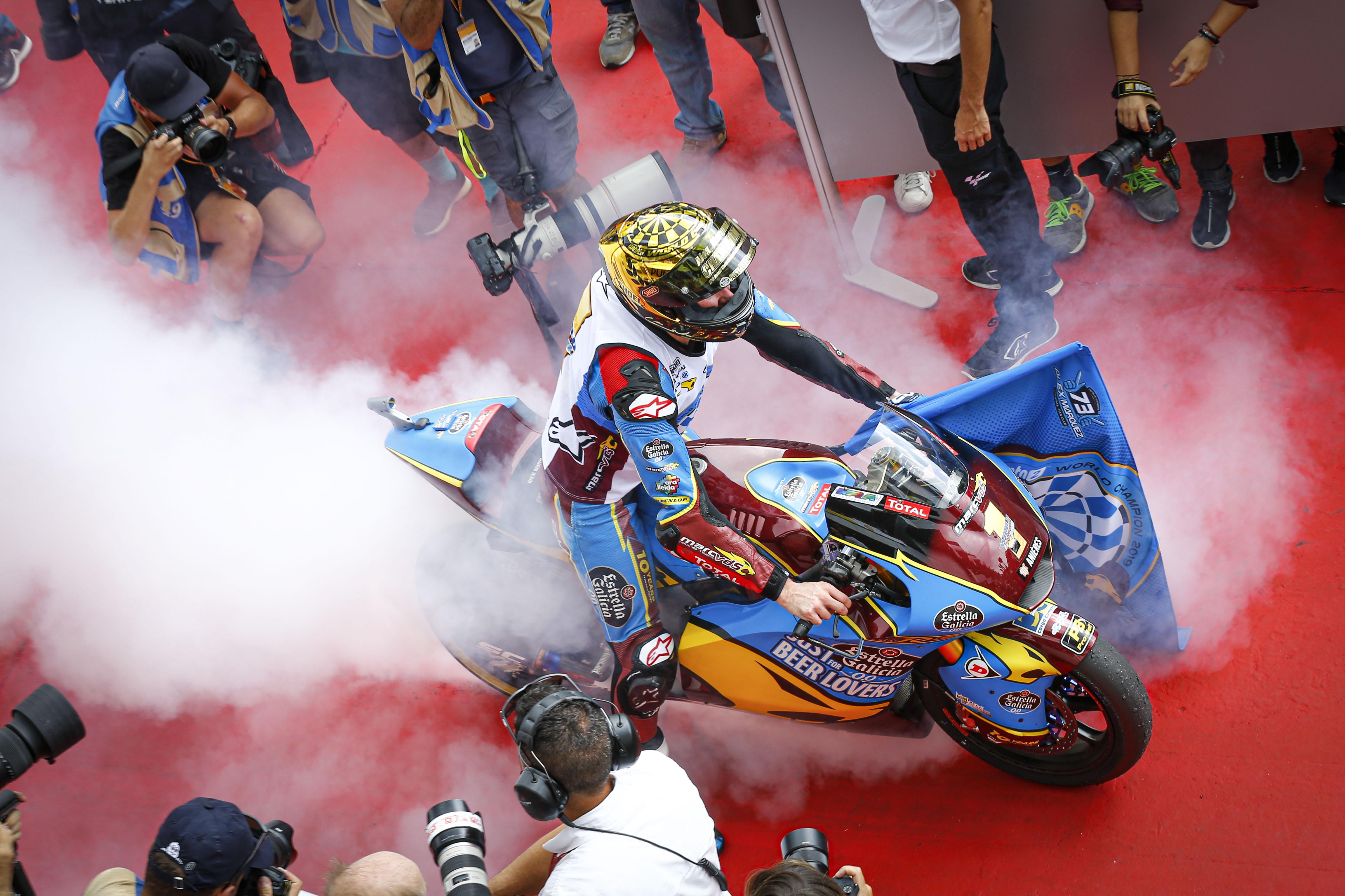 Alex Marquez wins Moto2 title 2019