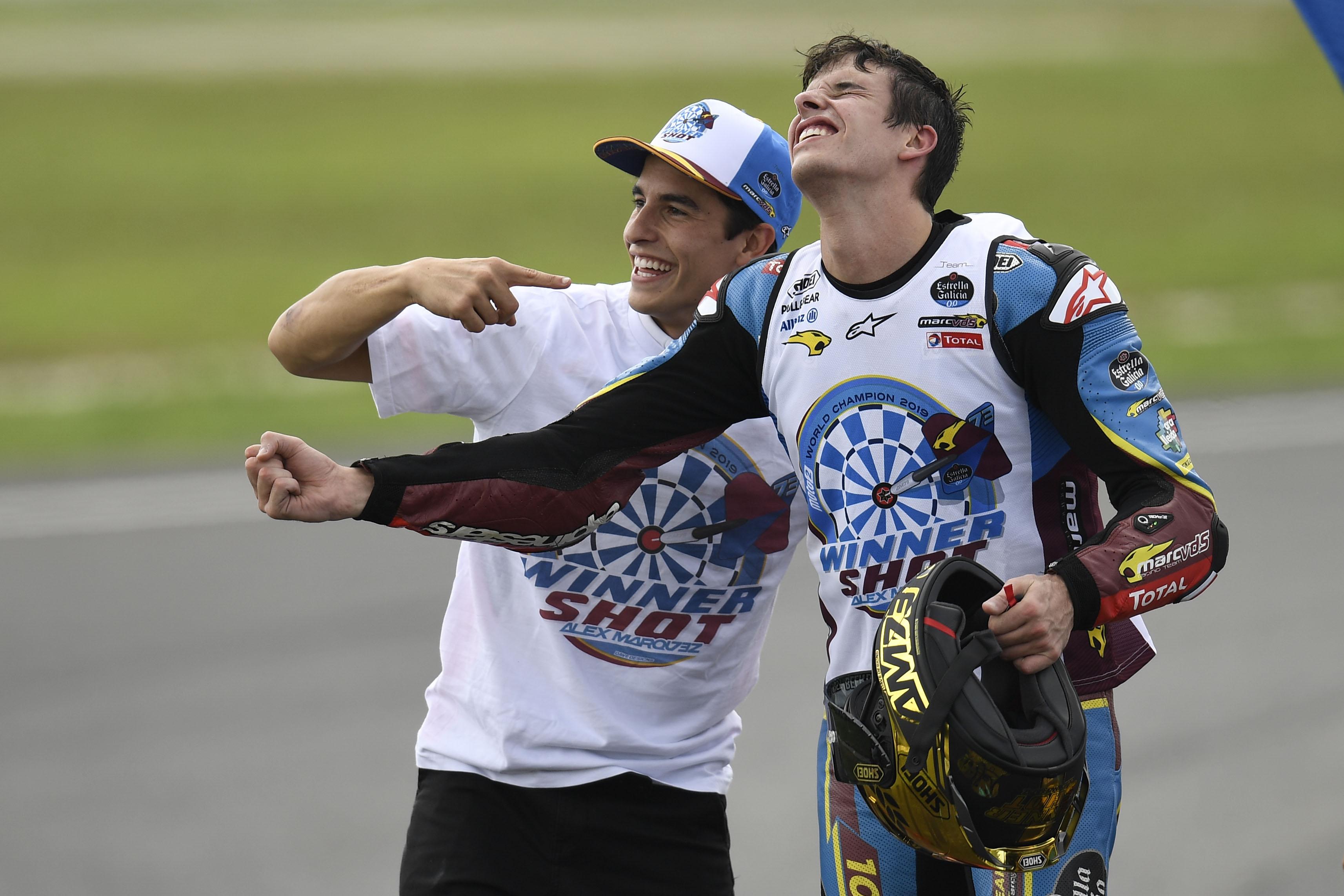 Marc and Alex Marquez