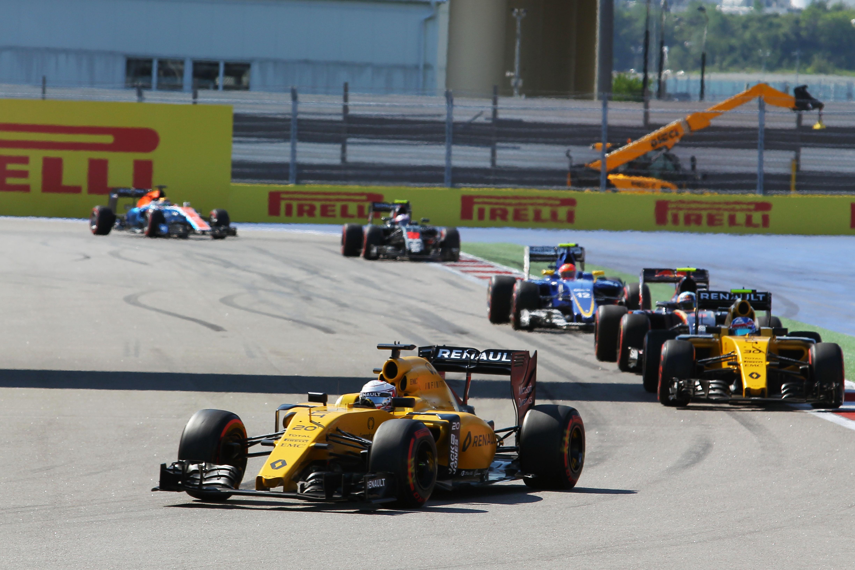 Kevin Magnussen Renault Russian Grand Prix 2016 Sochi