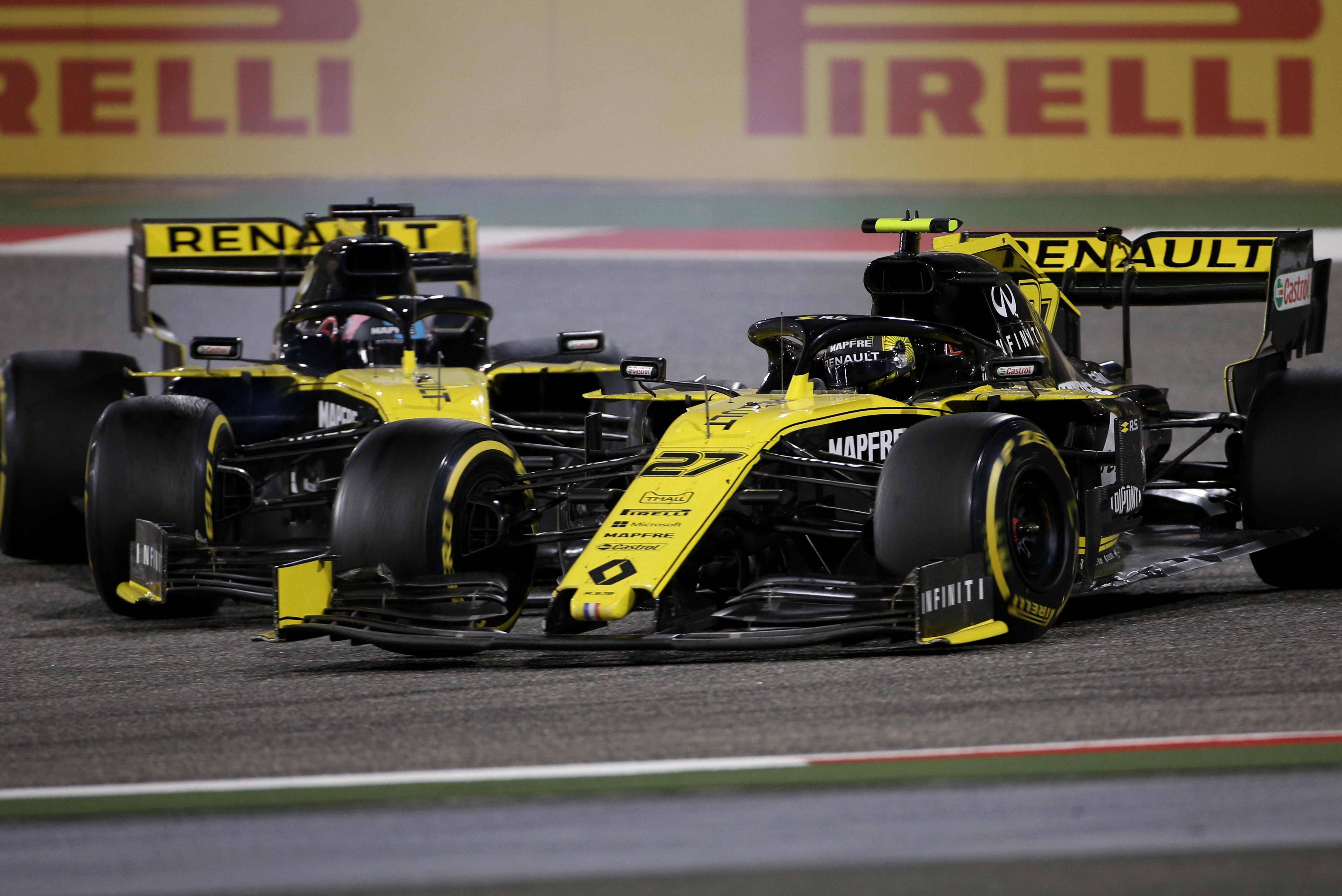 Nico Hulkenberg Daniel Ricciardo Renault Bahrain Grand Prix 2019