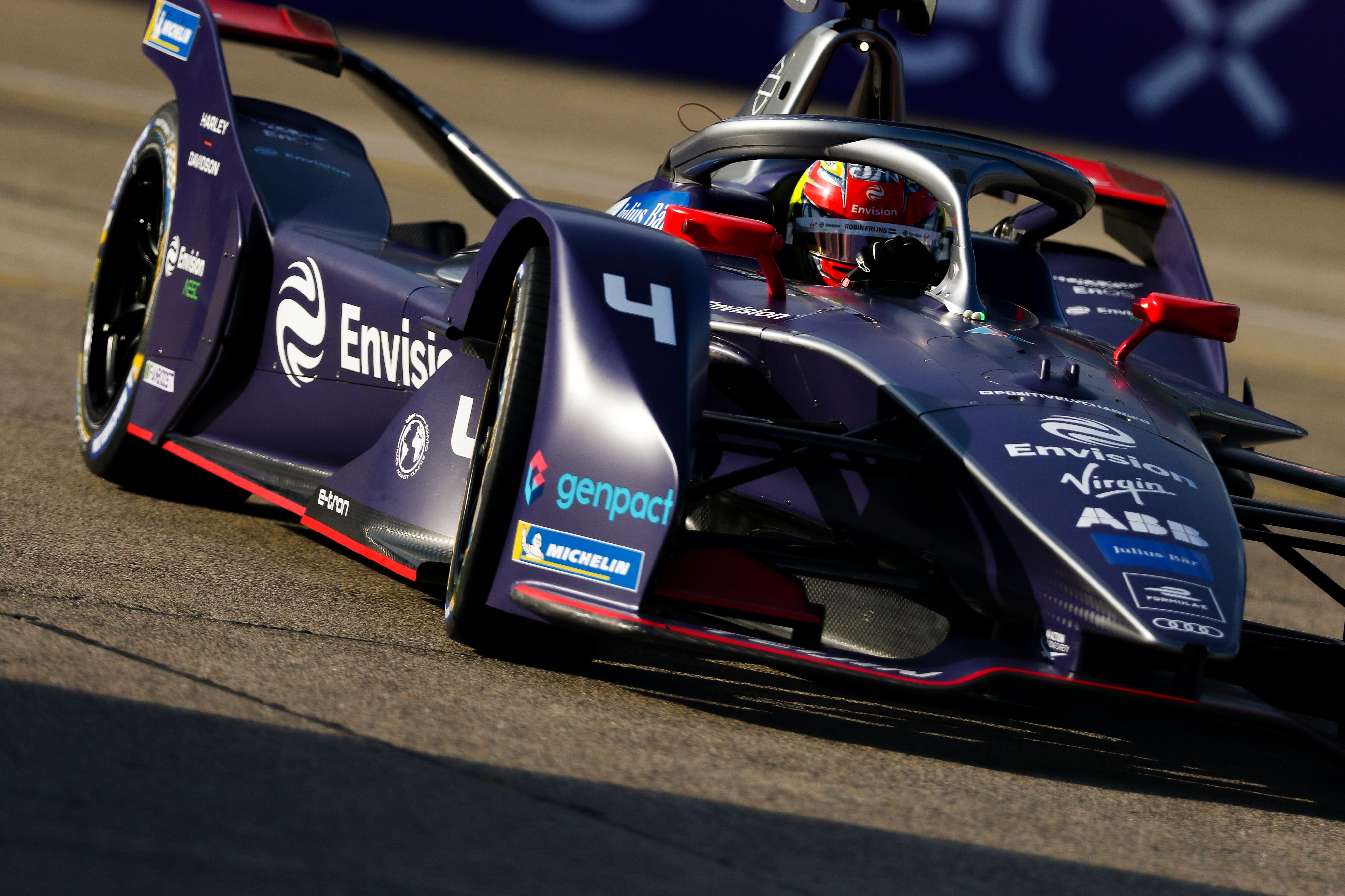 Robin Frijns Envision Virgin Formula E 2020