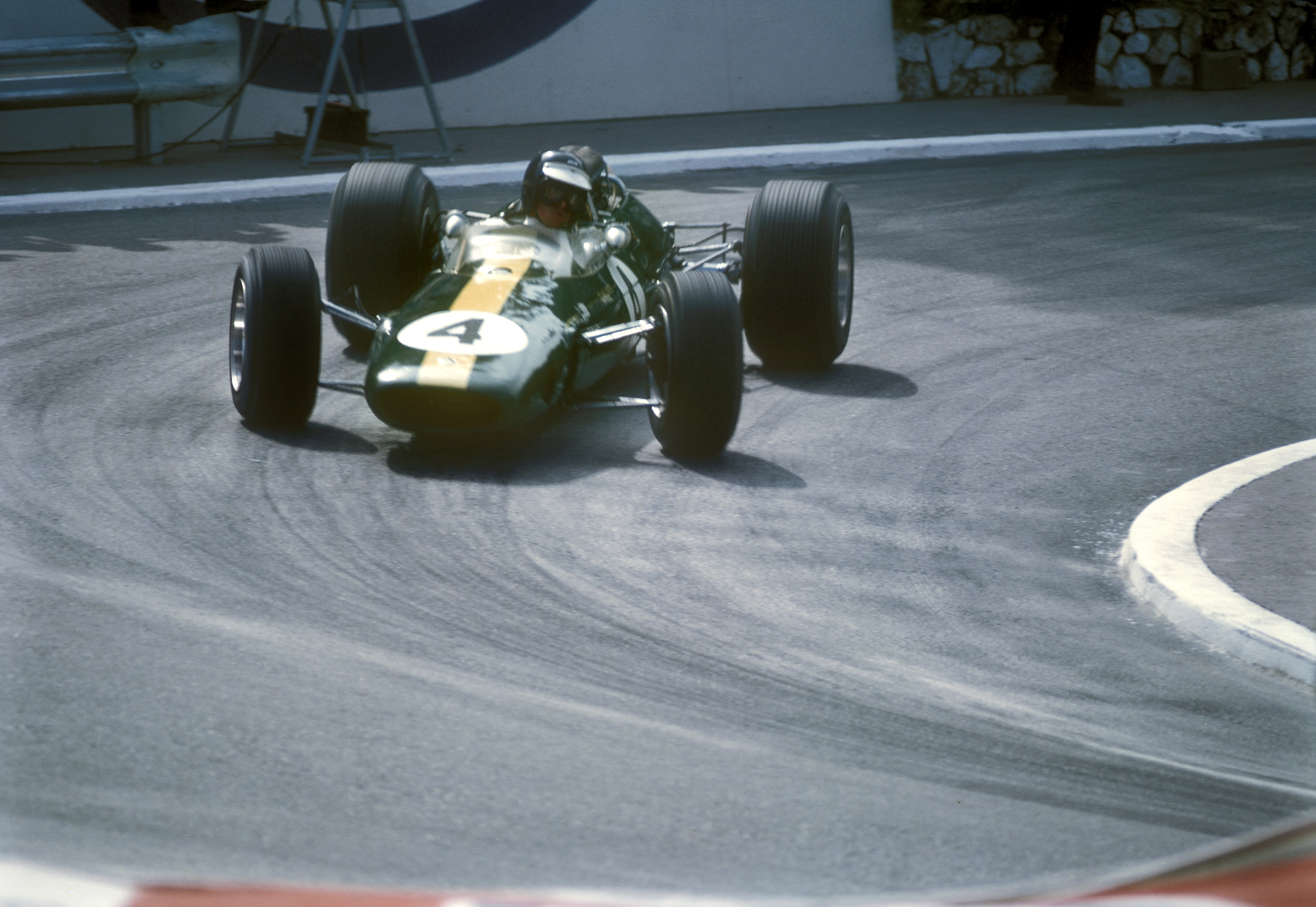 JIm Clark Lotus Monaco Grand Prix 1966