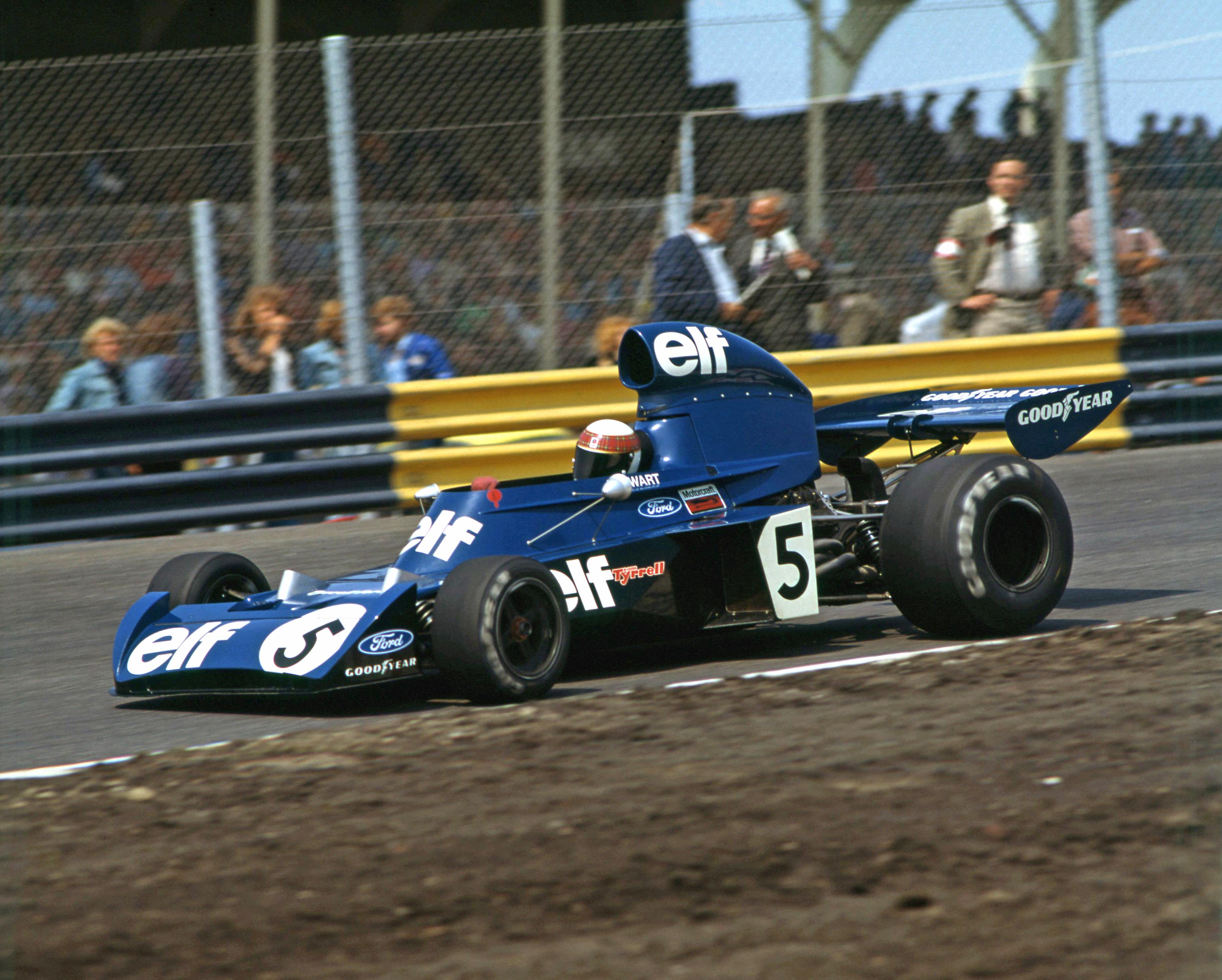 Jackie Stewart Tyrrell 1973