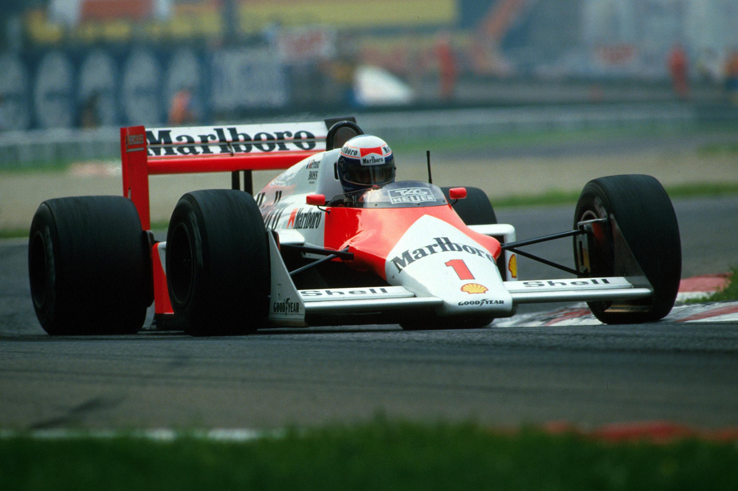 Alain Prost McLaren 1987