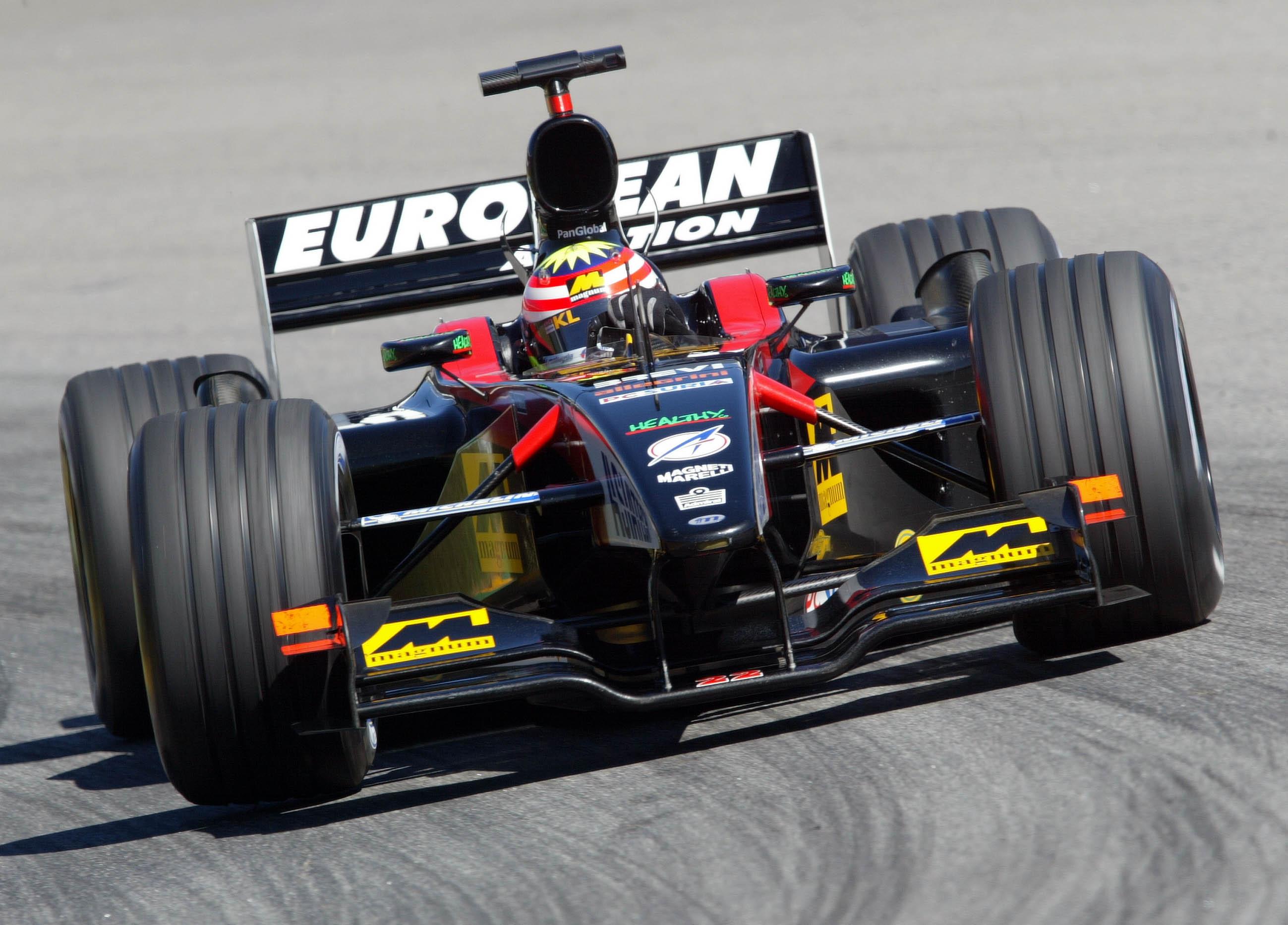 Warmup Am Sonntag, Alex Yoong (european Minardi), Gp Von Brasilien (brazil)