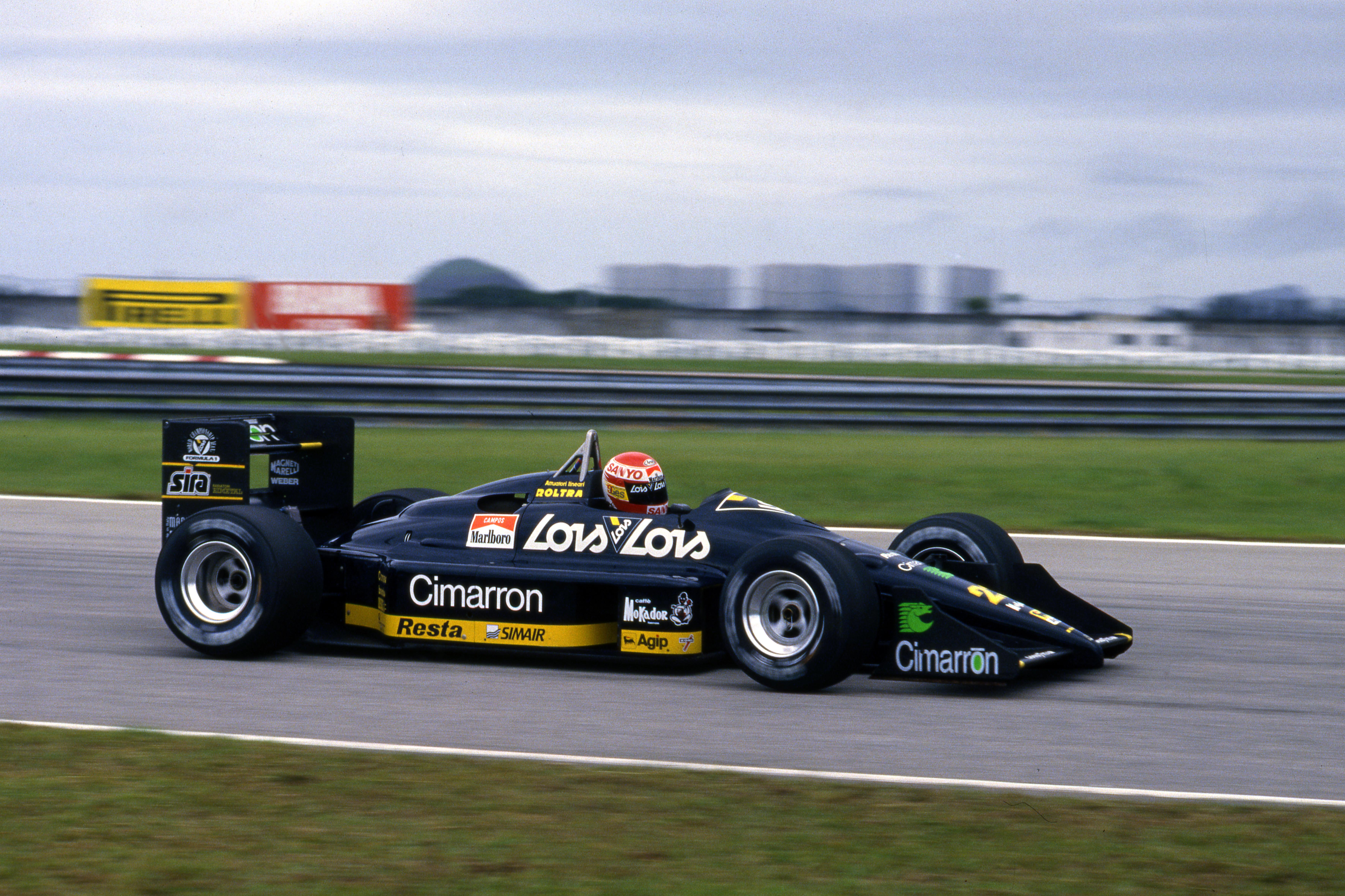 Brazilian Grand Prix Jacarepagua (bra) 01 03 04 1988