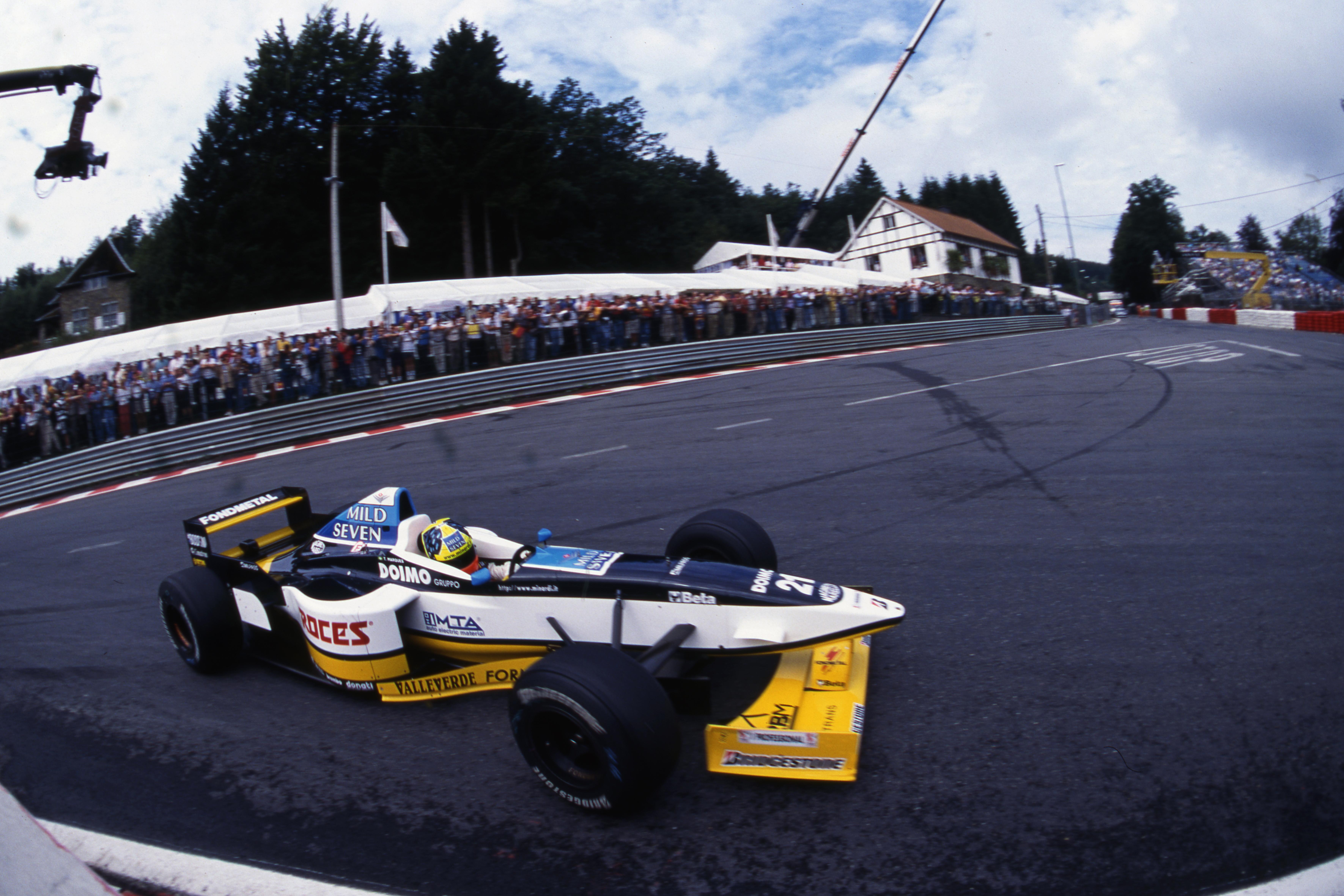 Belgian Grand Prix Spa Francorchamps (bel) 22 24 08 1997