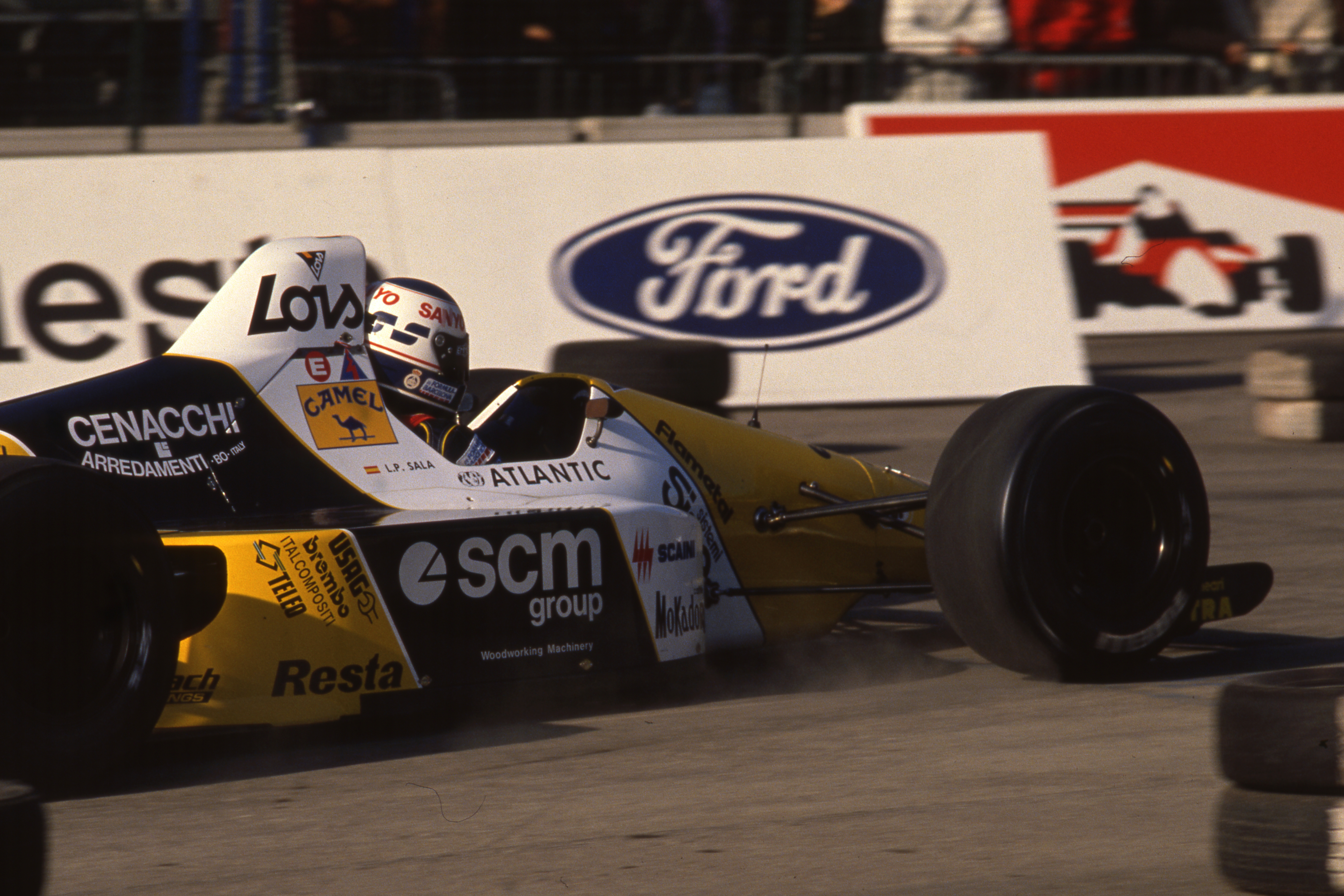 Motor Show Formula One Indoor Trophy Bologna (ita) 02 03 12 1989