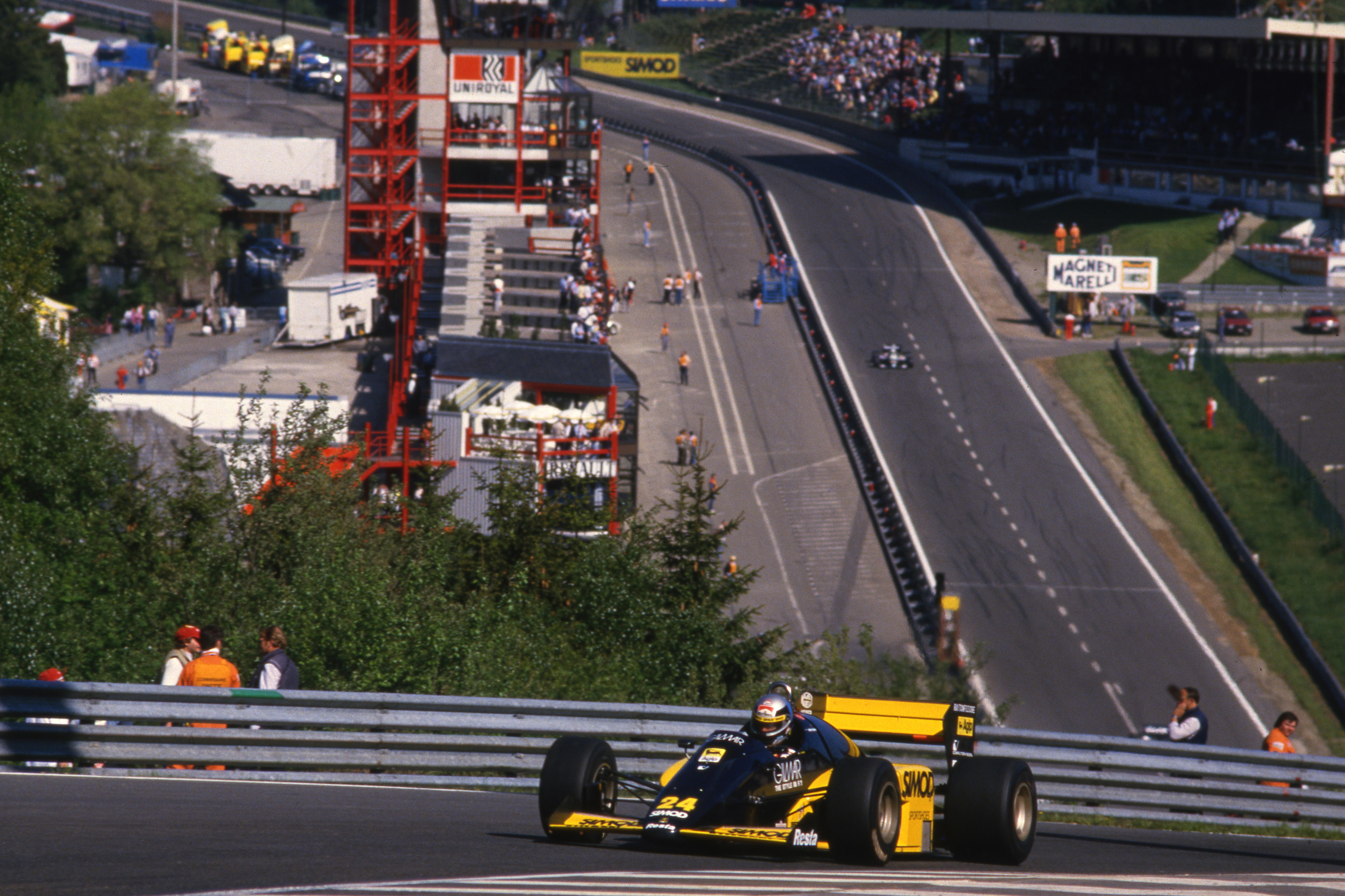 Belgian Grand Prix Spa Francorchamps (bel) 23 25 05 1986