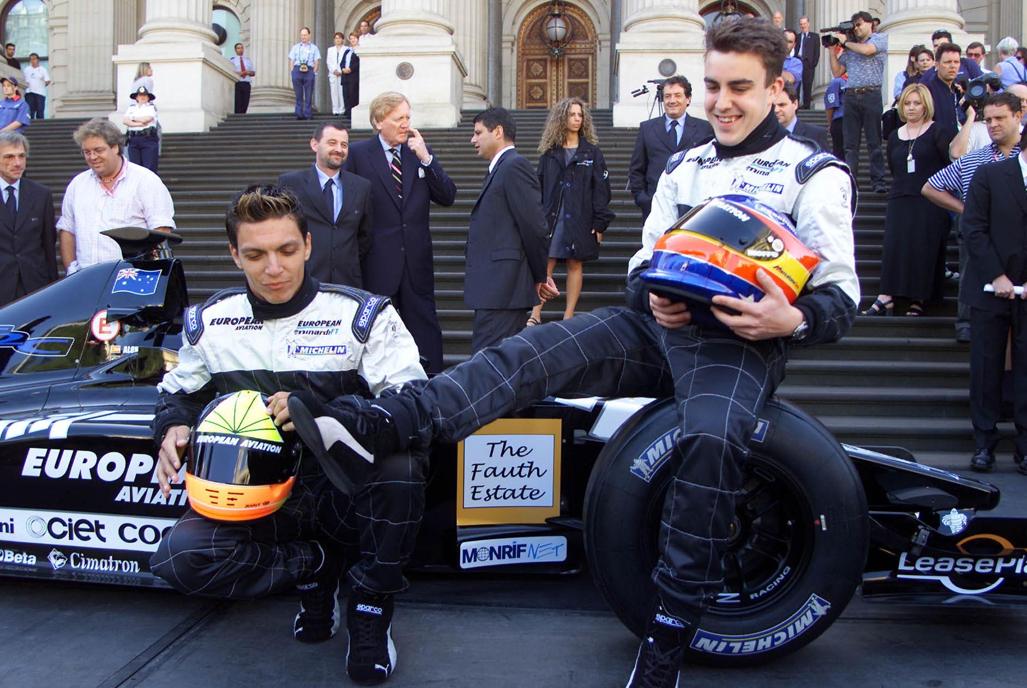 PrŠsentation Des Neuen Formel 1 Minardi In Melbourne