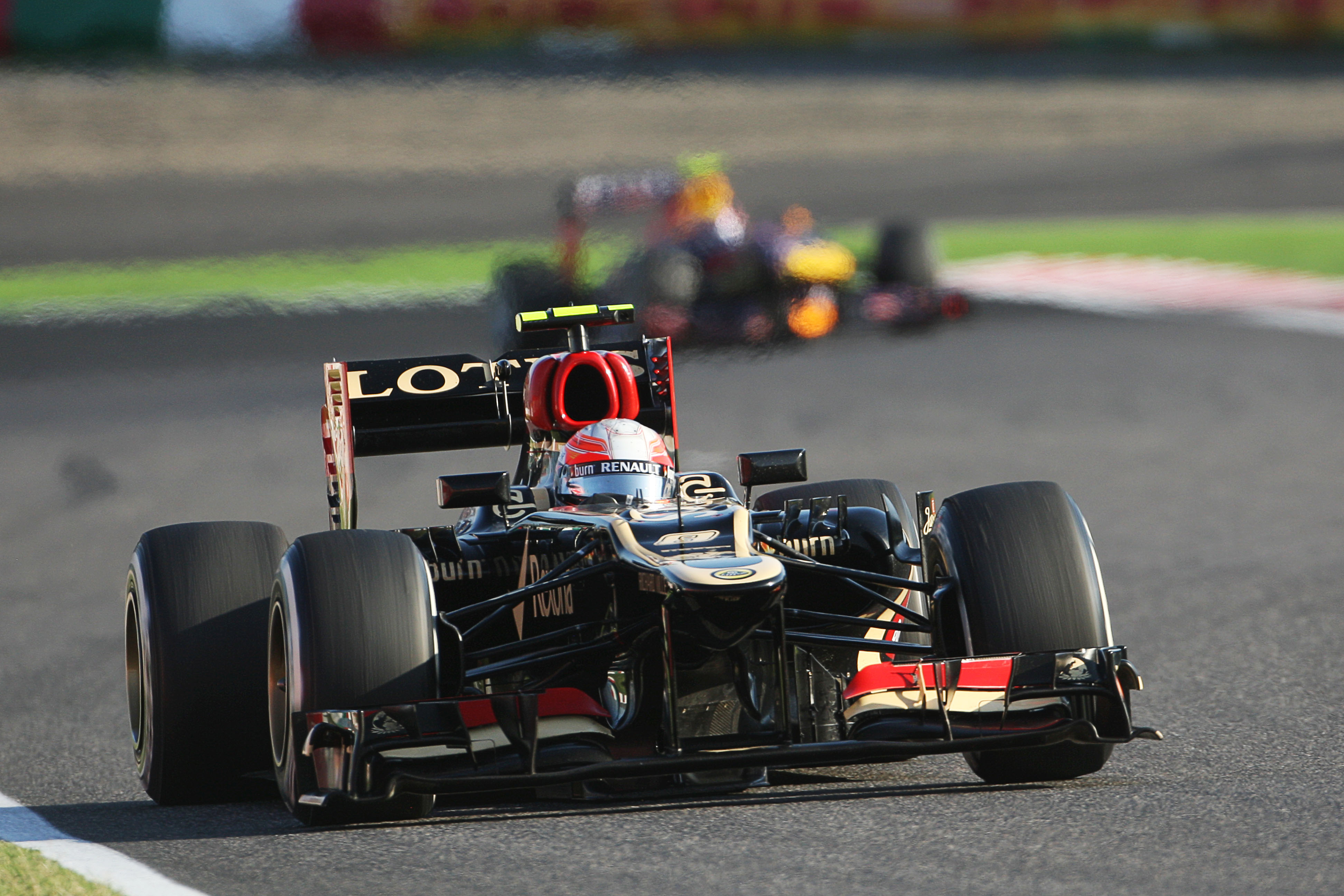 Romain Grosjean 2013 Japanese Grand Prix Suzuka Lotus Japan