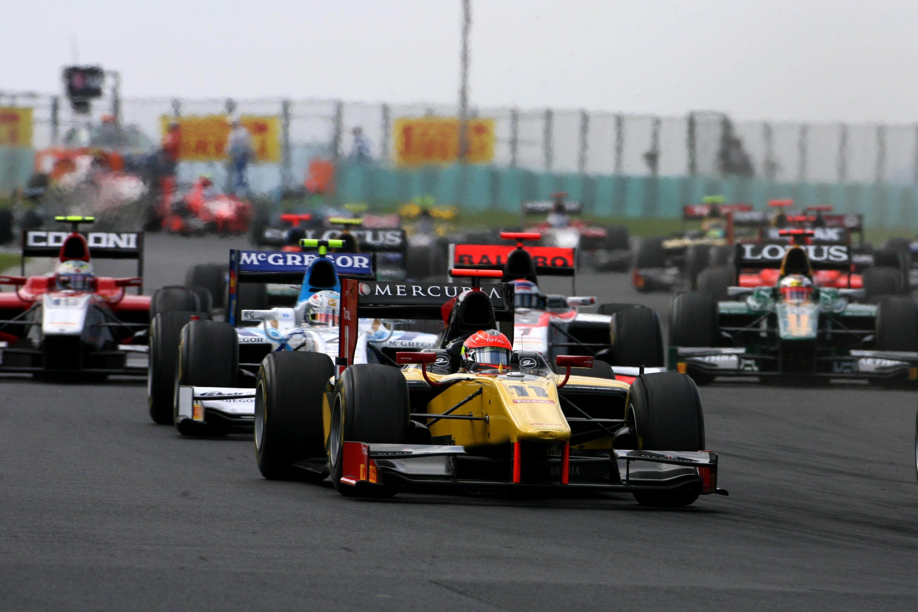 Romain Grosjean GP2 2011