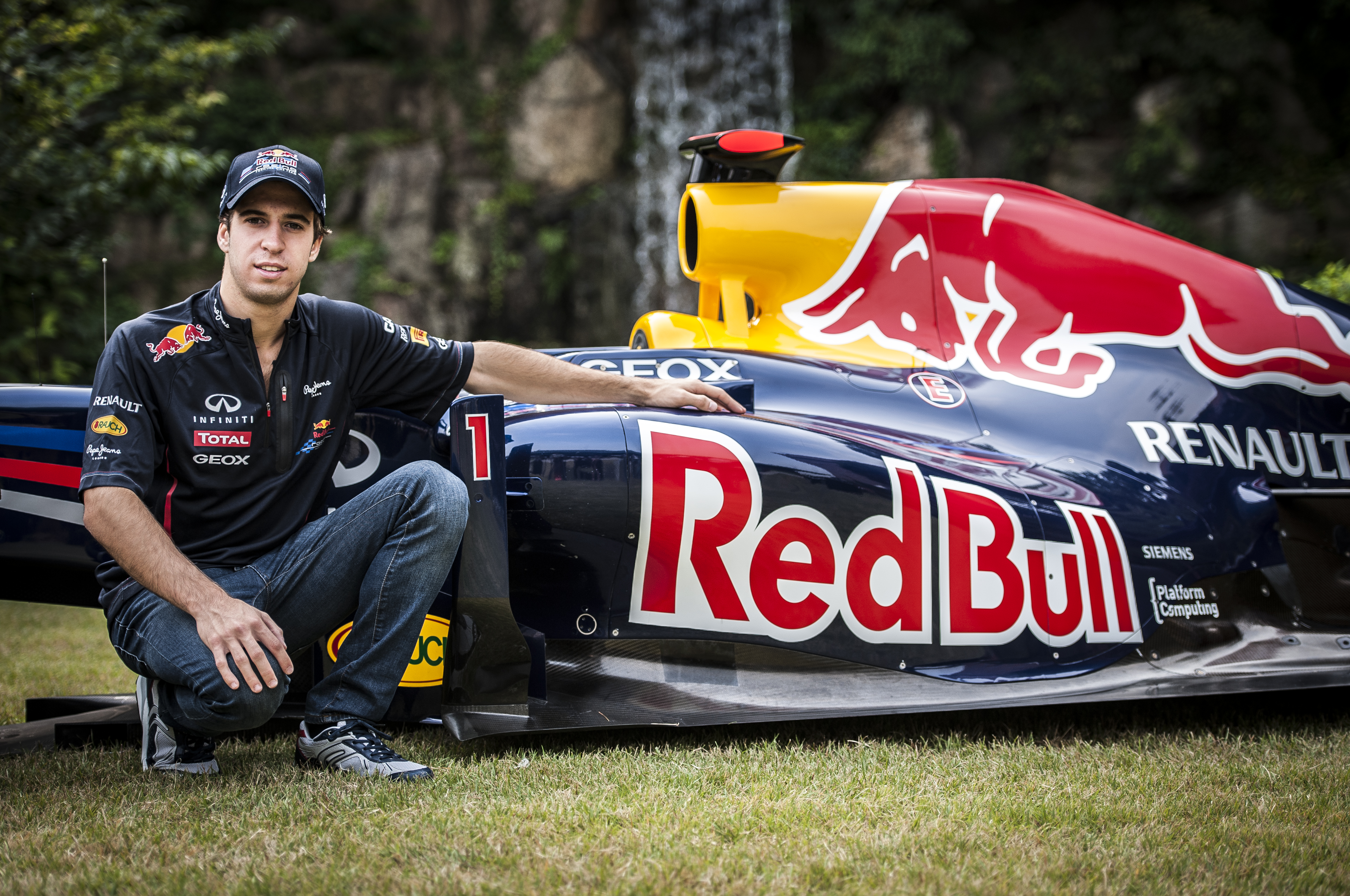 Antonio Felix Da Costa Red Bull F1 car 2013