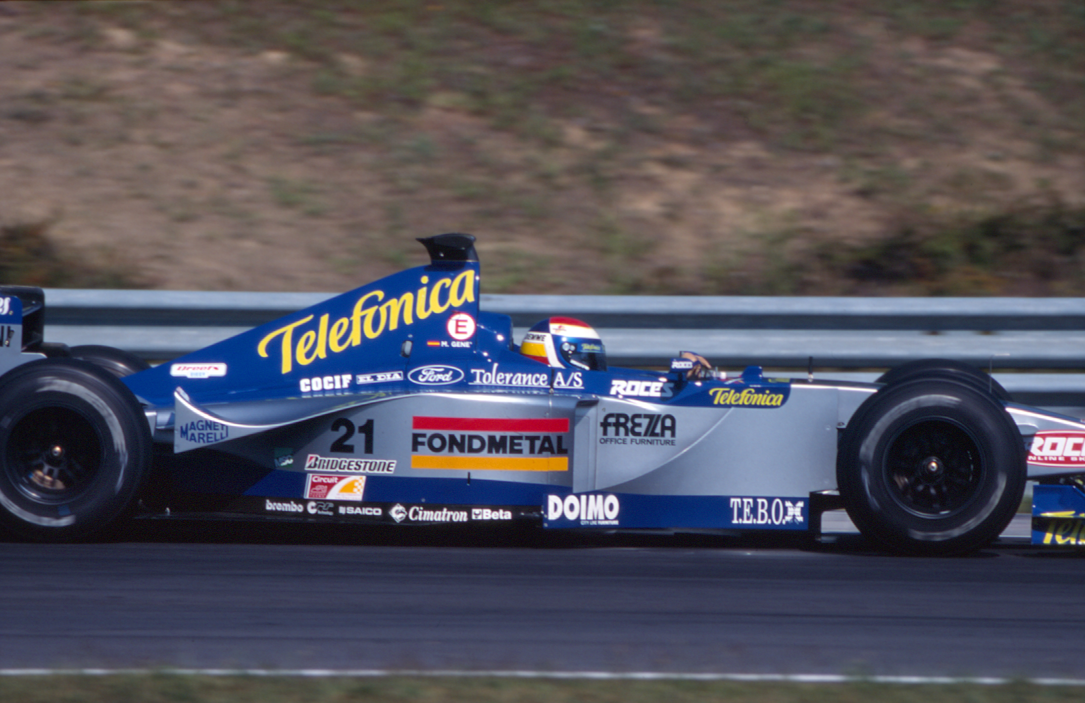 Marc Gene Minardi F1 1999