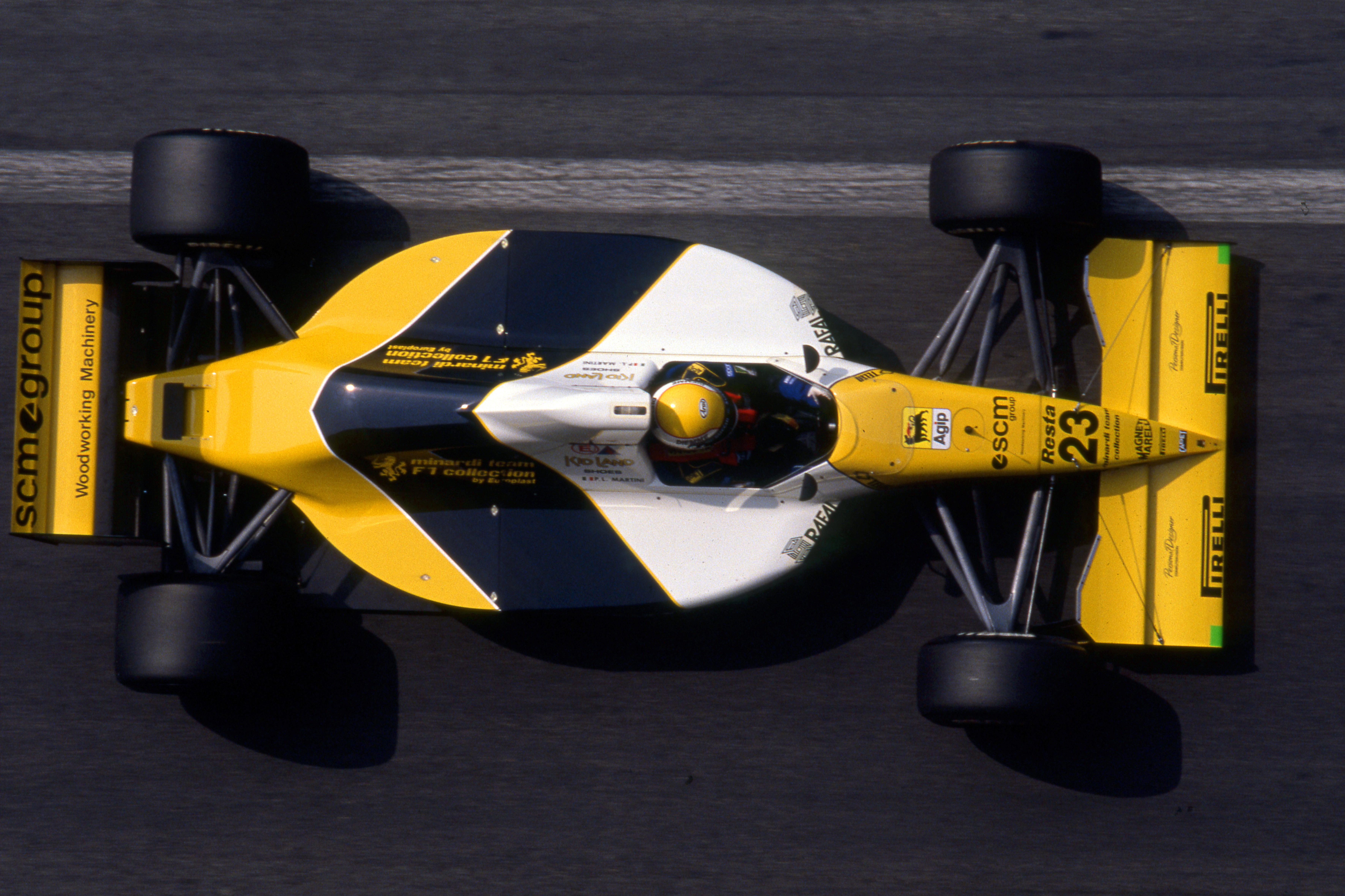 Pierluigi Martini Minardi F1 1990